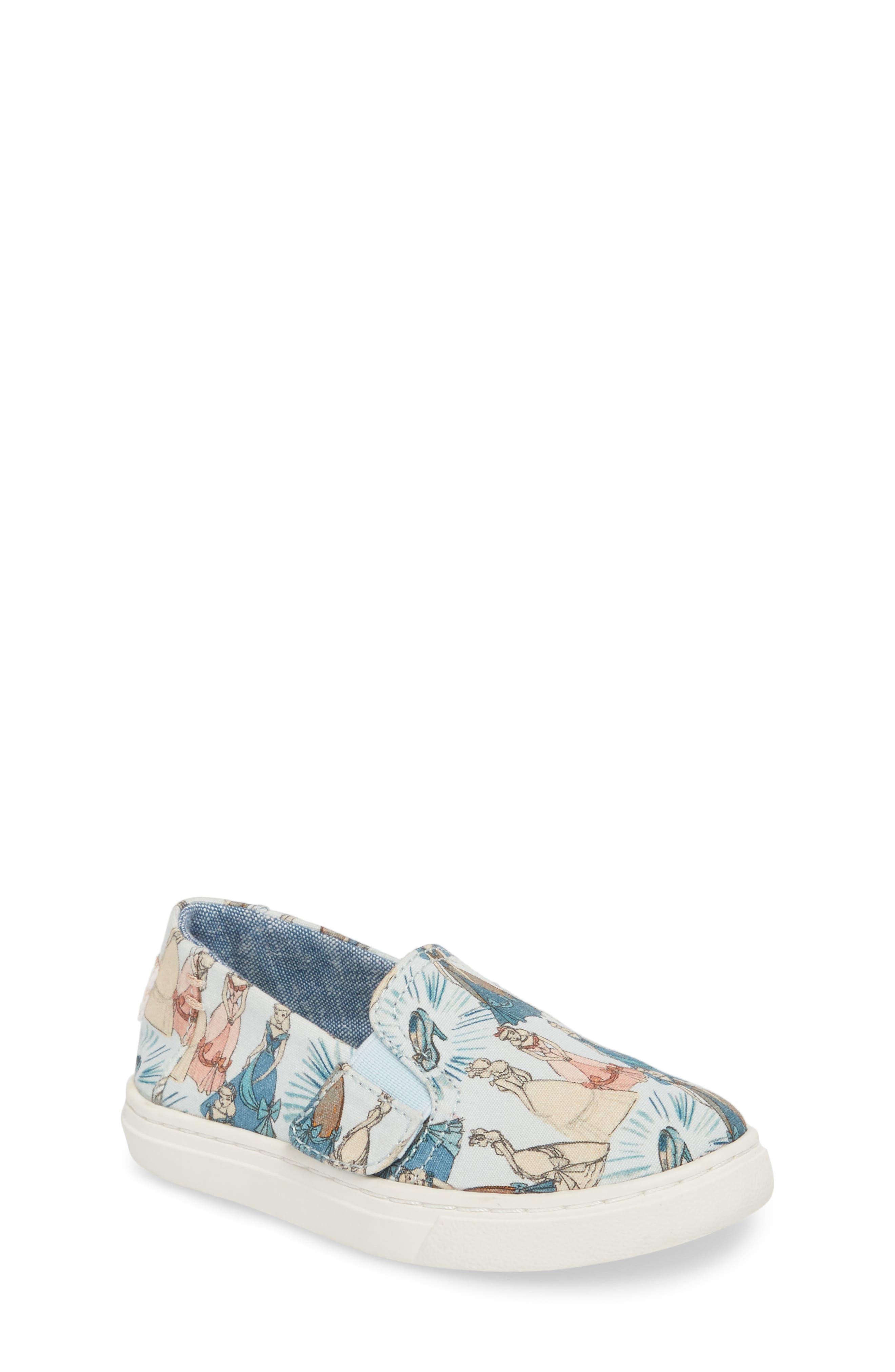 x Disney Luca Slip-On,                         Main,                         color, CINDERELLA BLUE PRINT