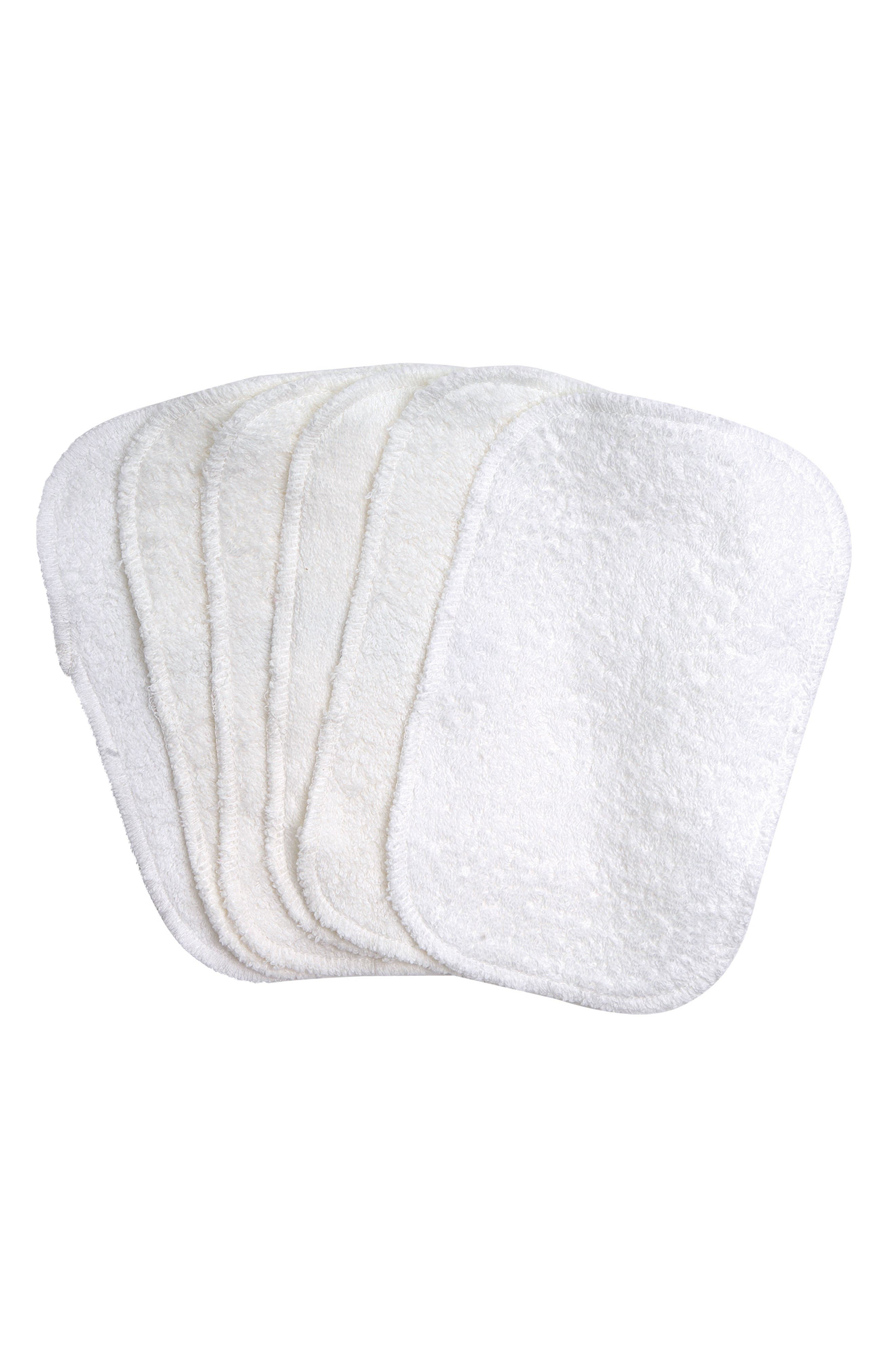 6-Pack Organic Egyptian Cotton Terry Wipes,                             Main thumbnail 1, color,                             900