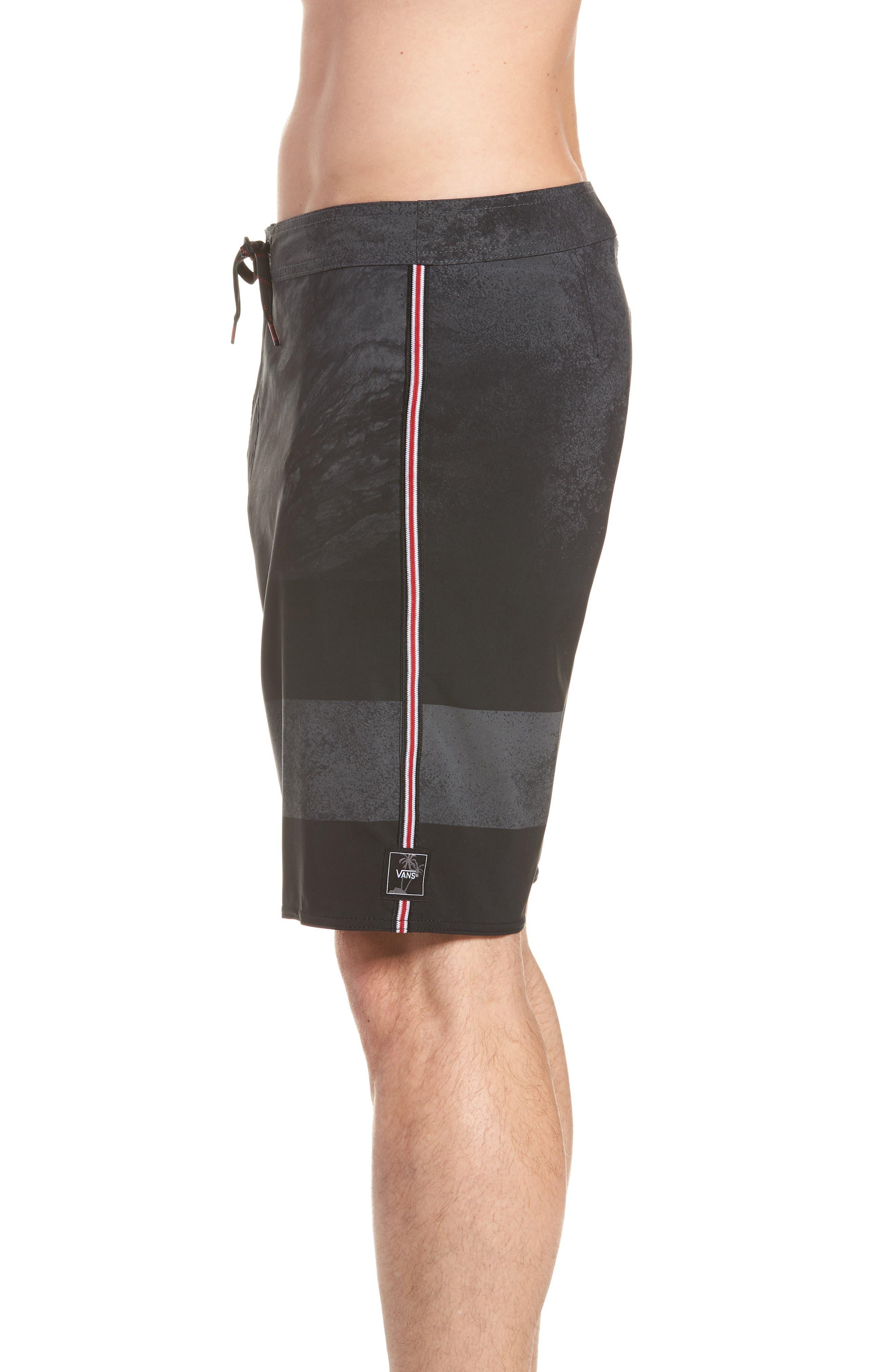 Era Board Shorts,                             Alternate thumbnail 4, color,                             BLACK/ NATHAN FLORENCE