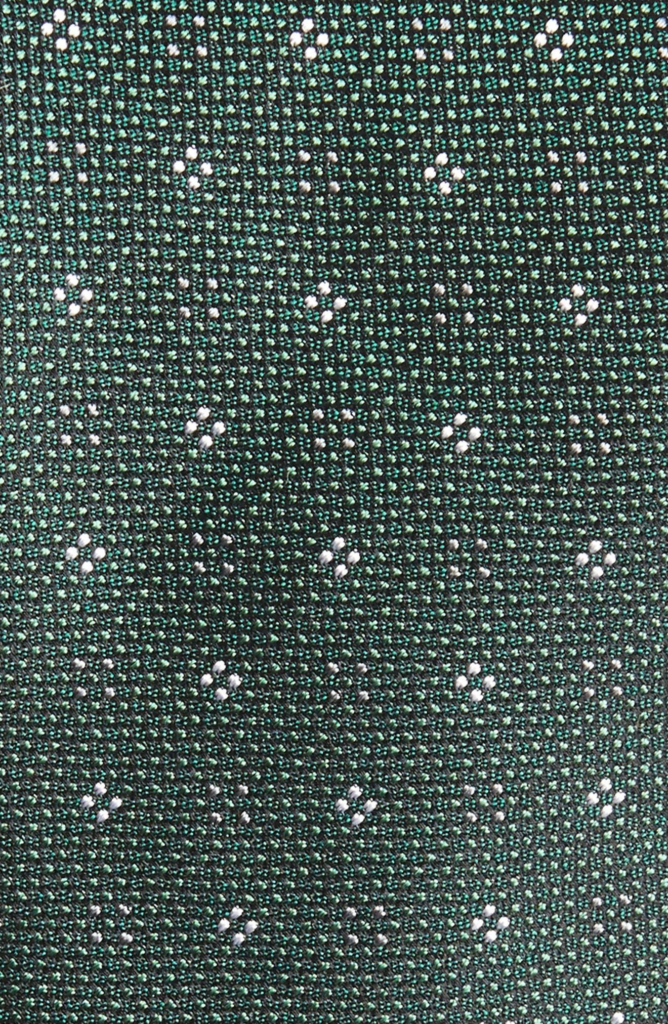 Bond Geos Silk Skinny Tie,                             Alternate thumbnail 2, color,                             308