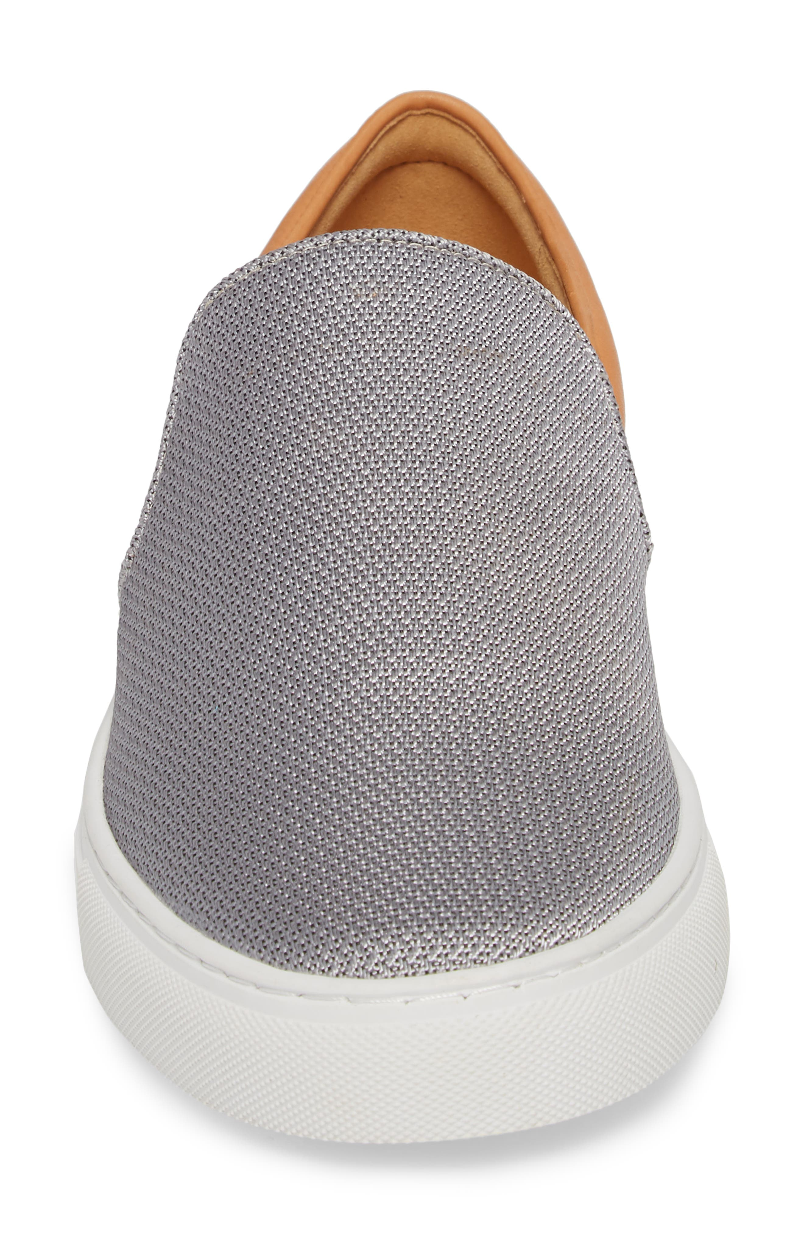 Albin Raffia Slip-On Sneaker,                             Alternate thumbnail 4, color,                             041
