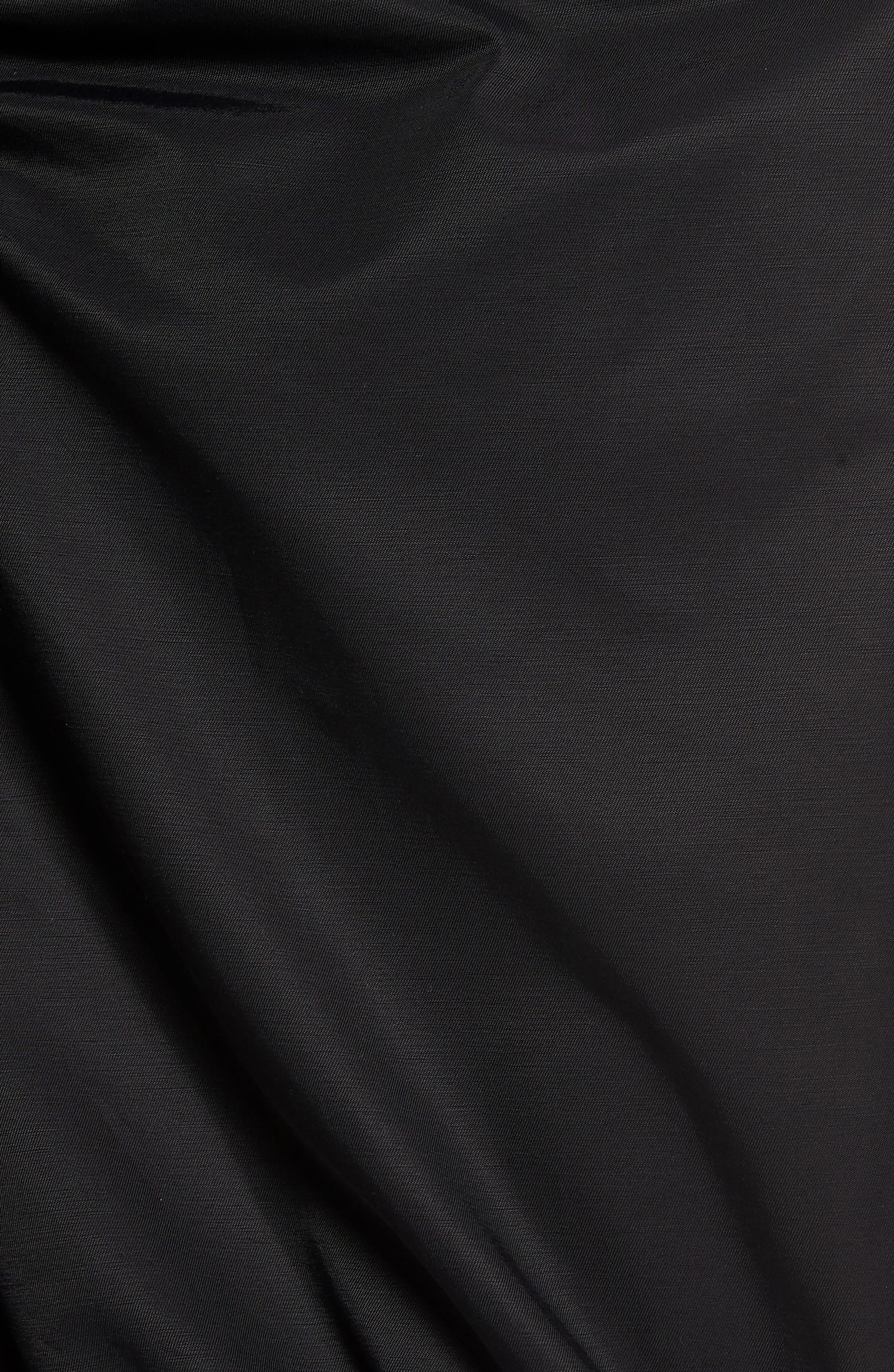 Ruffle Front Skirt,                             Alternate thumbnail 5, color,                             001