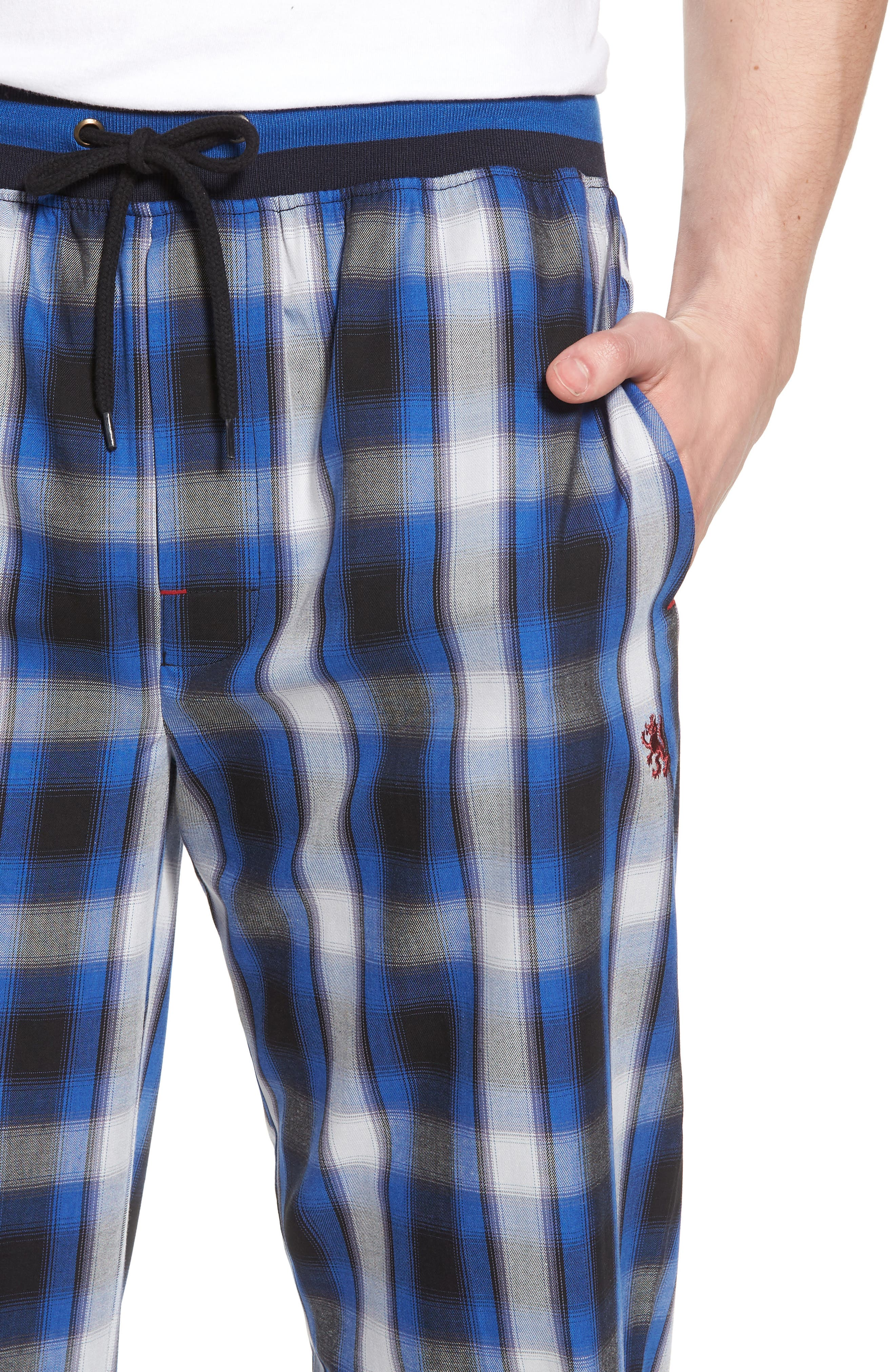 Urbane Lounge Pants,                             Alternate thumbnail 4, color,                             001