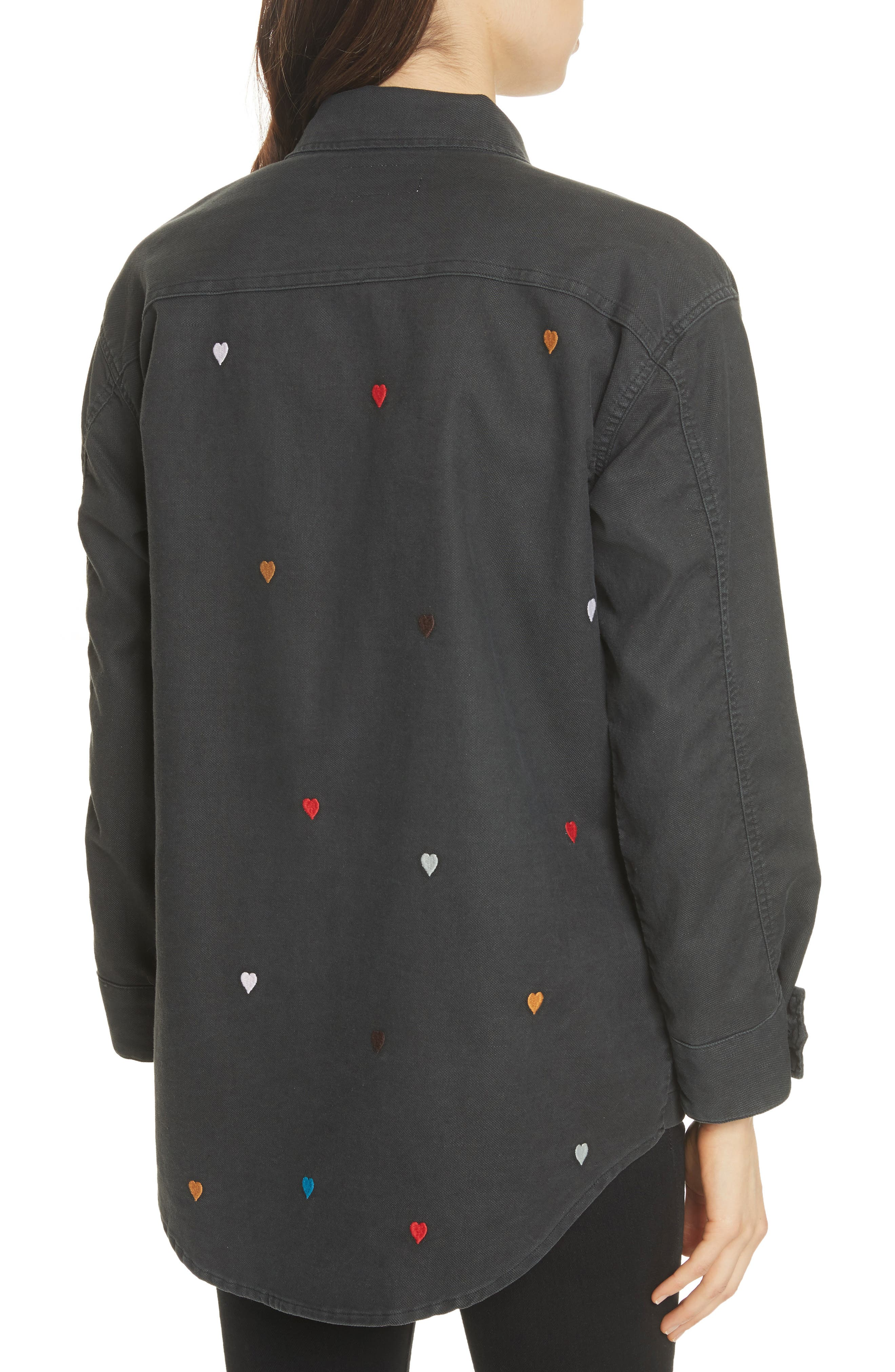 The Commander Embroidered Jacket,                             Alternate thumbnail 2, color,                             001