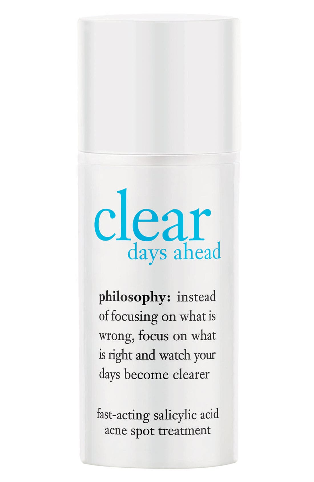 'clear days ahead' fast-acting acne spot treatment,                             Main thumbnail 1, color,                             NO COLOR