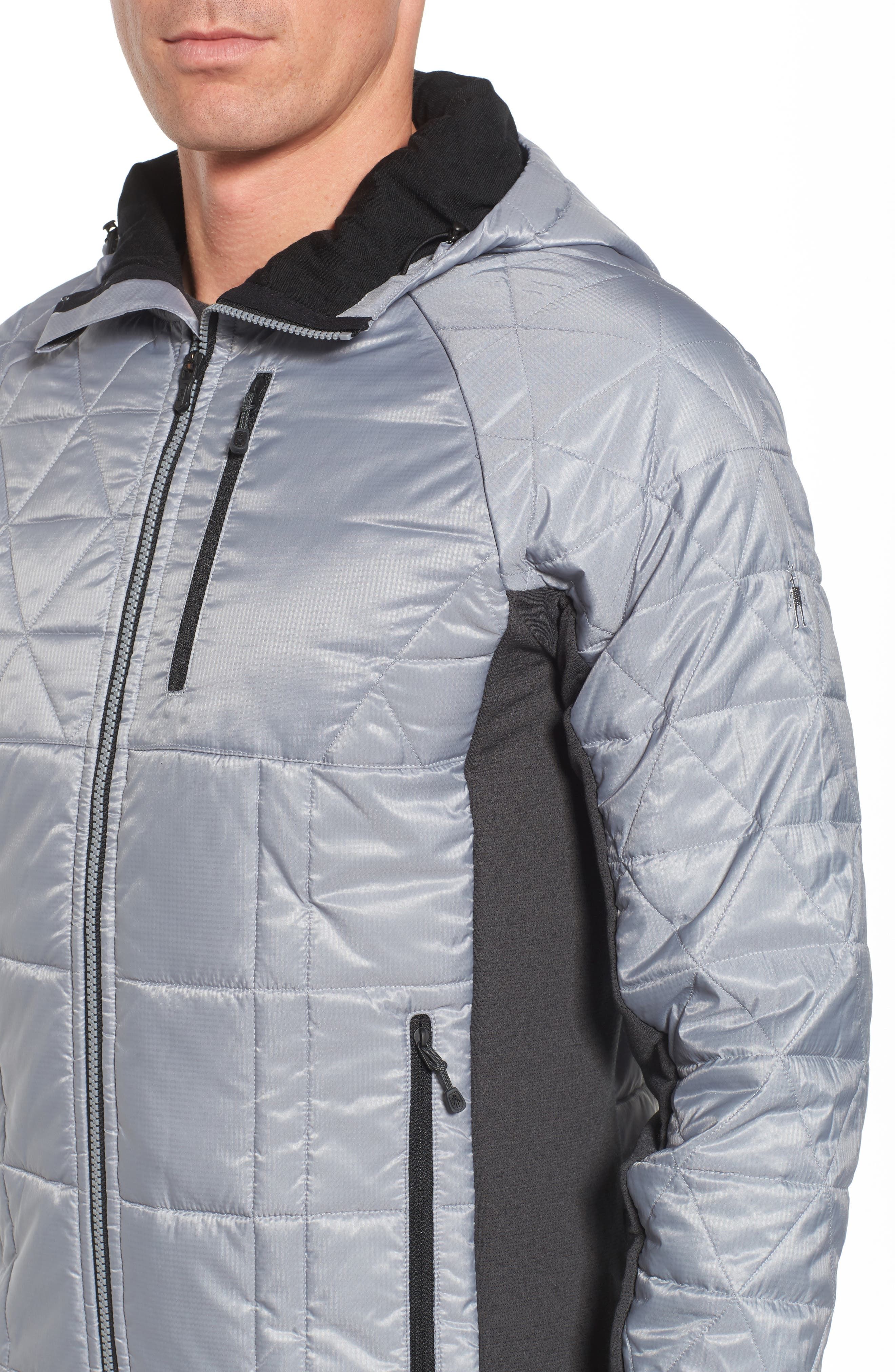 Double Corbet 120 Water Resistant Quilted Jacket,                             Alternate thumbnail 4, color,