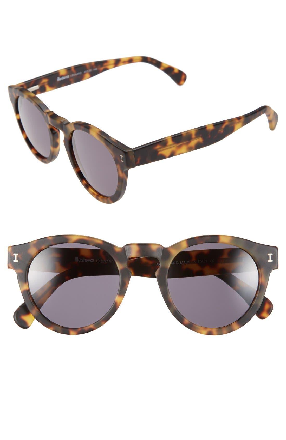 'Leonard' 47mm Sunglasses,                             Main thumbnail 55, color,