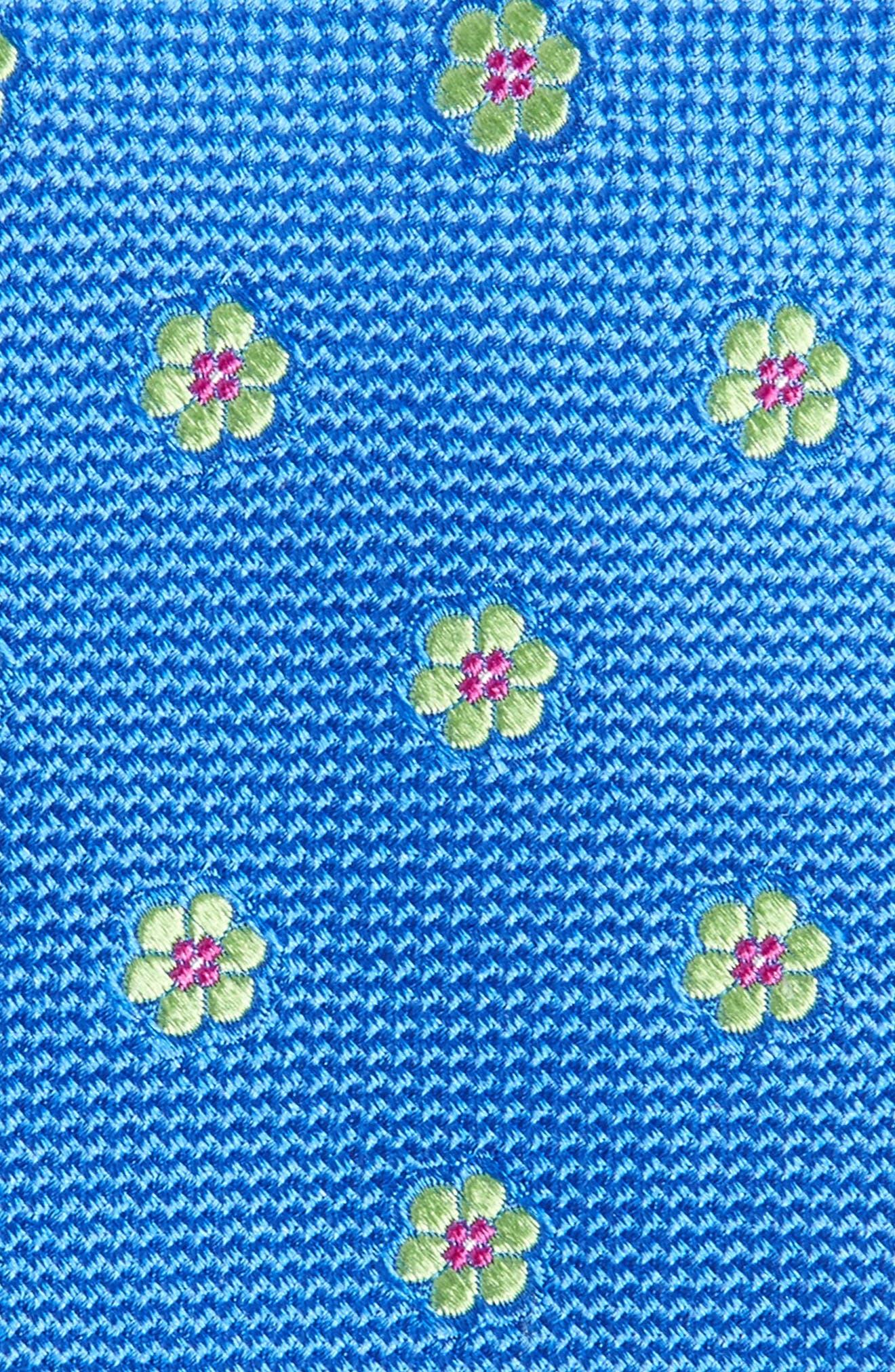 Calibrate Cloisters Neat Silk Tie,                             Alternate thumbnail 12, color,