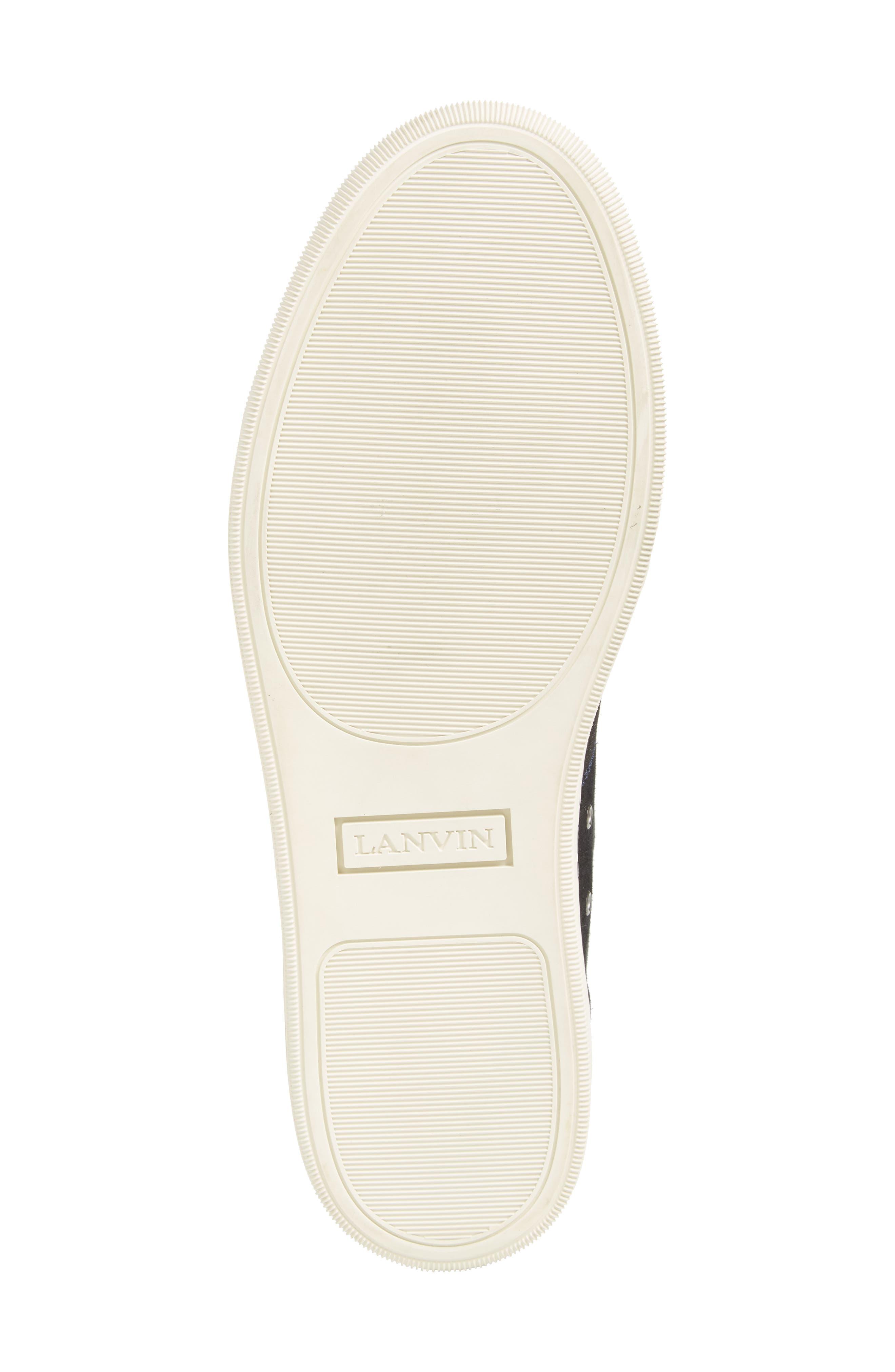 Low Top Suede Sneaker,                             Alternate thumbnail 6, color,                             024