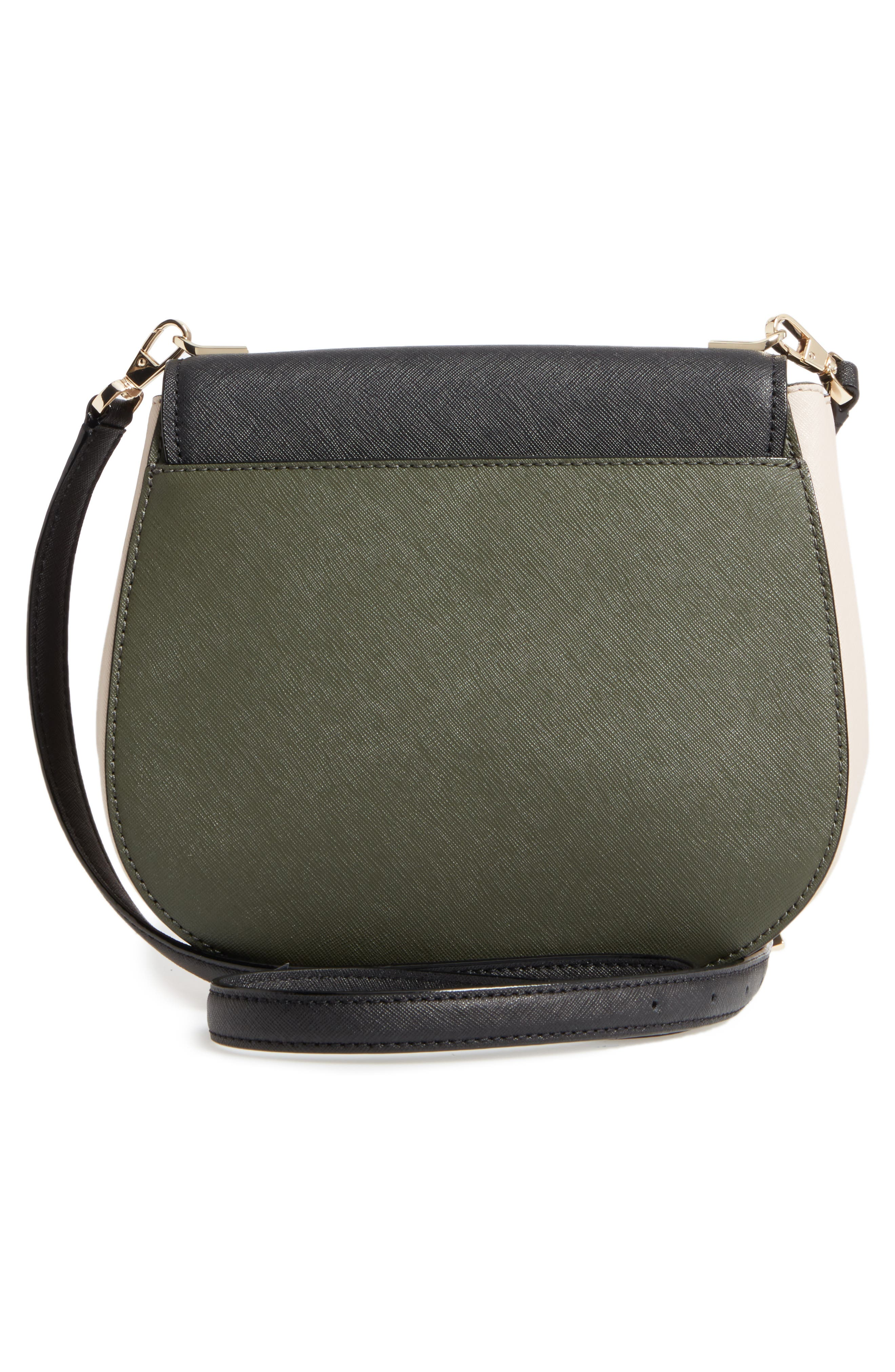 cameron street - byrdie leather crossbody bag,                             Alternate thumbnail 3, color,                             301
