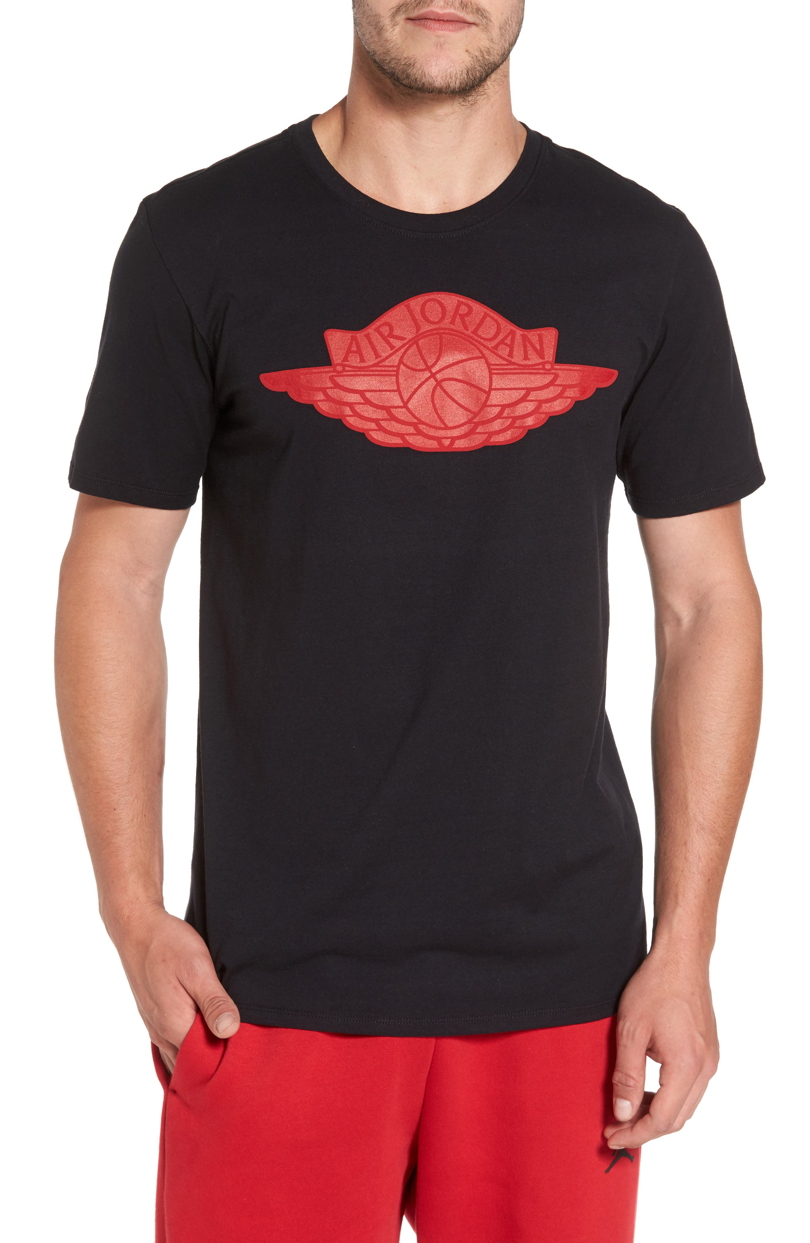Sportswear Wings Logo Graphic T-Shirt,                         Main,                         color,