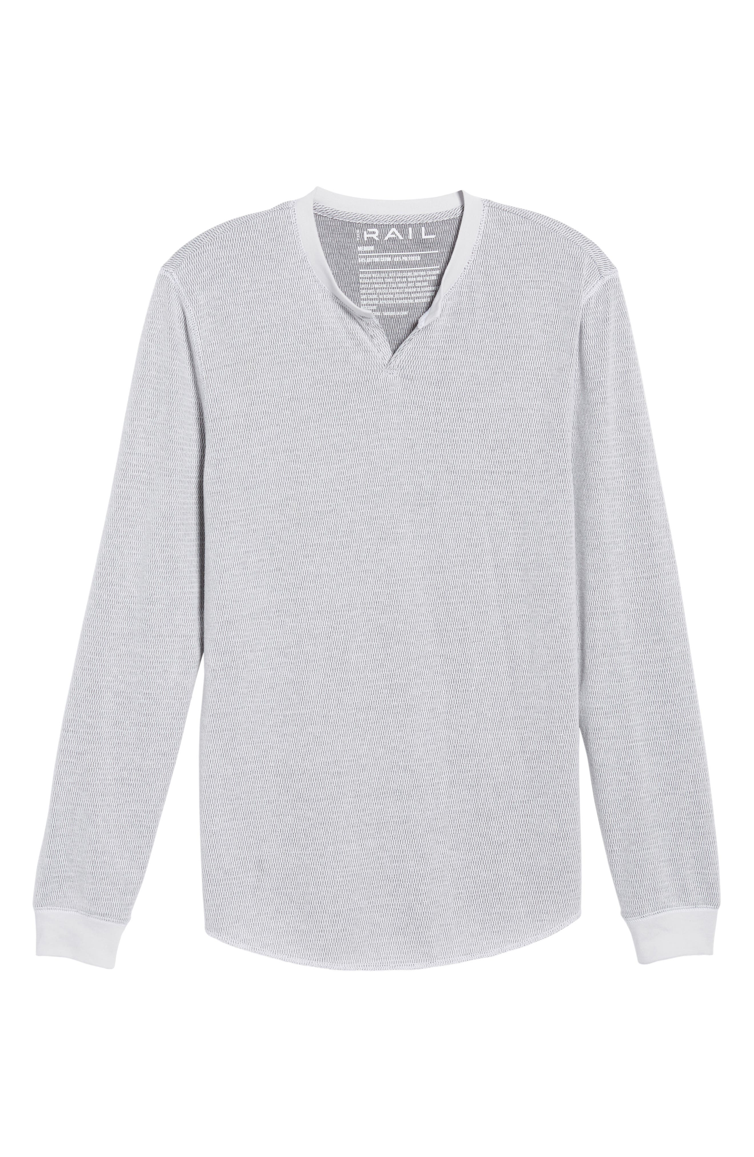 Notch Neck Thermal T-Shirt,                             Alternate thumbnail 38, color,