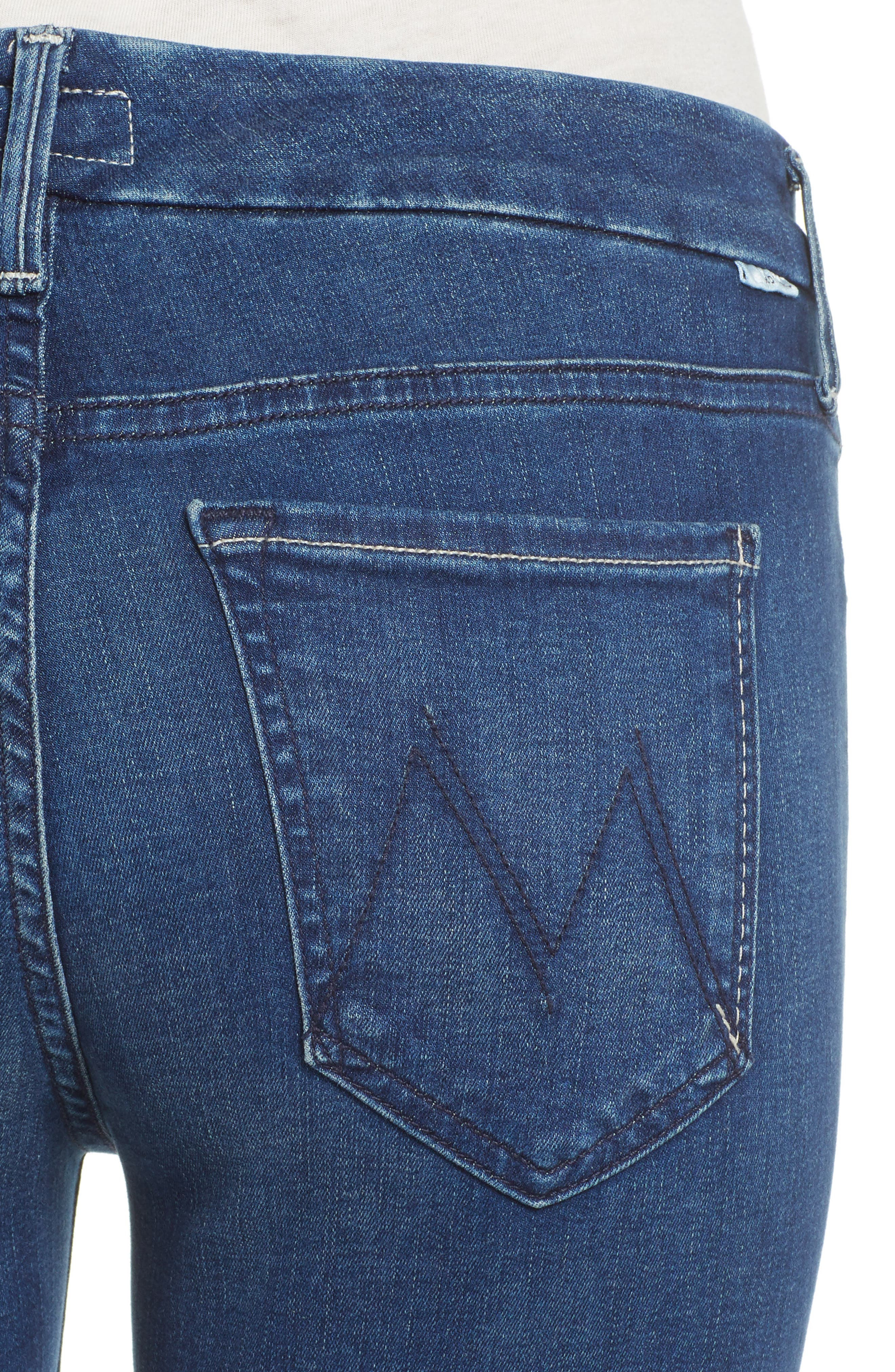 The Looker Crop Skinny Jeans,                             Alternate thumbnail 4, color,                             407