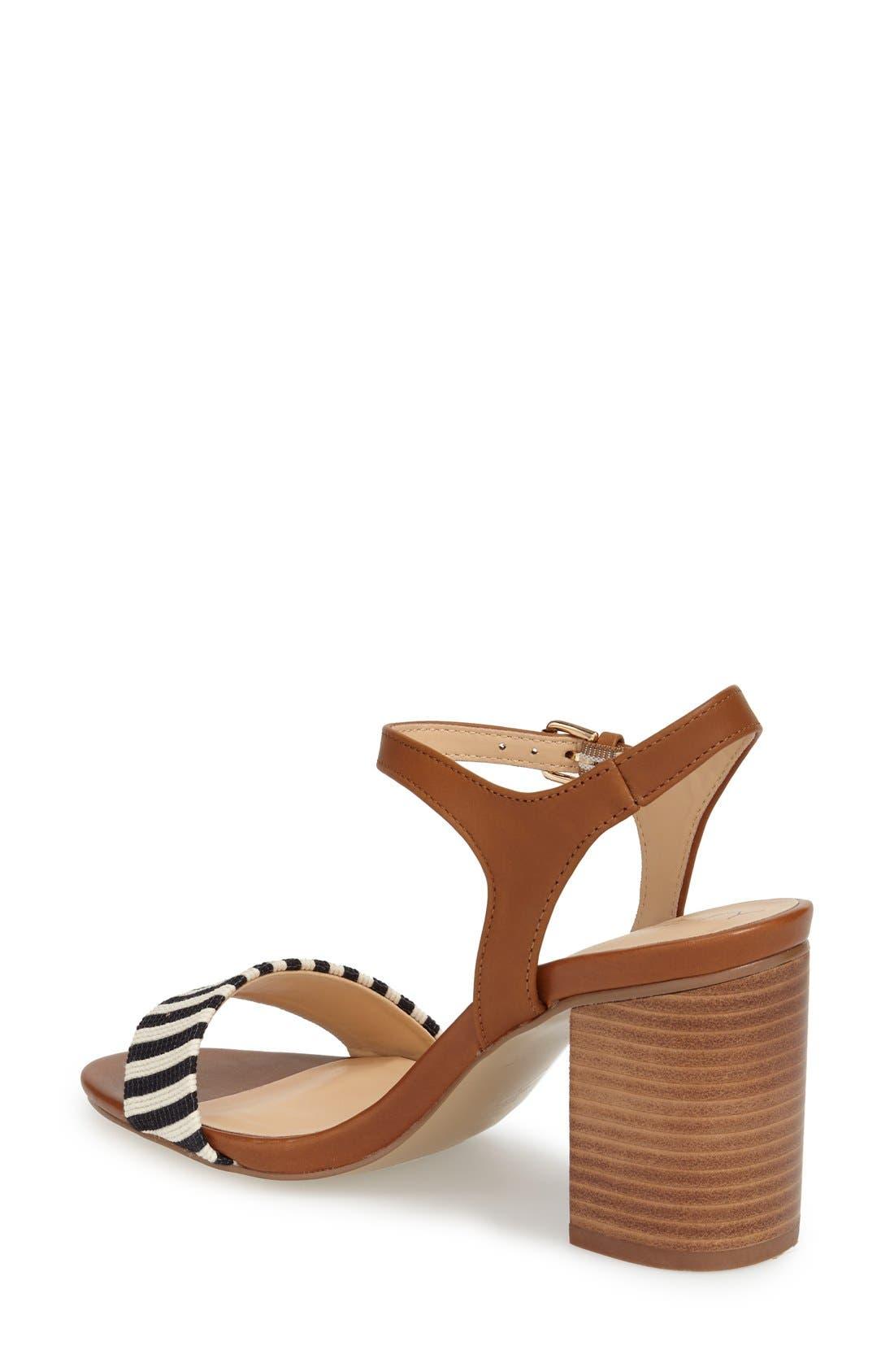 'Linny' Ankle Strap Sandal,                             Alternate thumbnail 16, color,