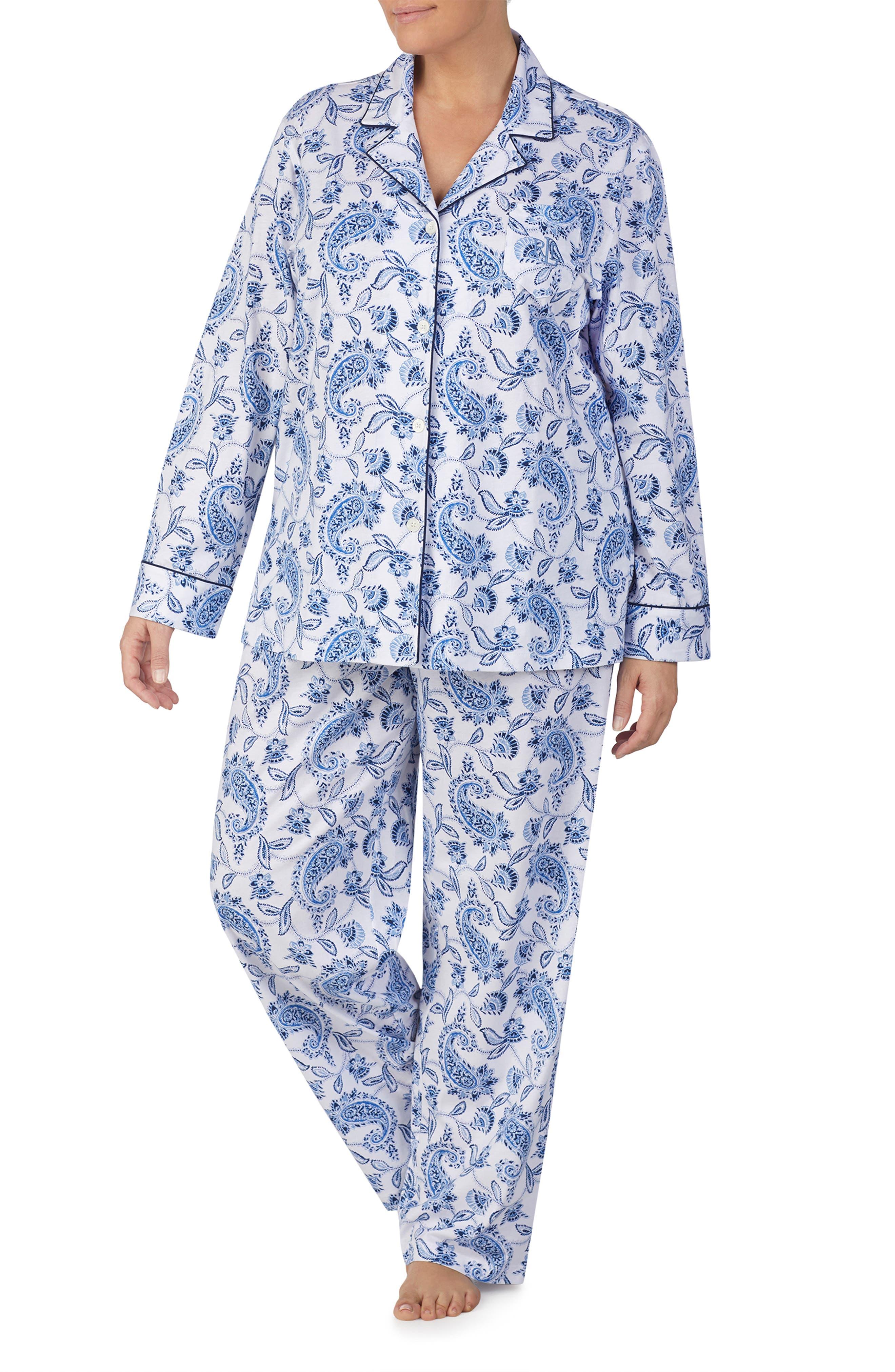 Paisley Pajamas,                             Main thumbnail 1, color,                             401
