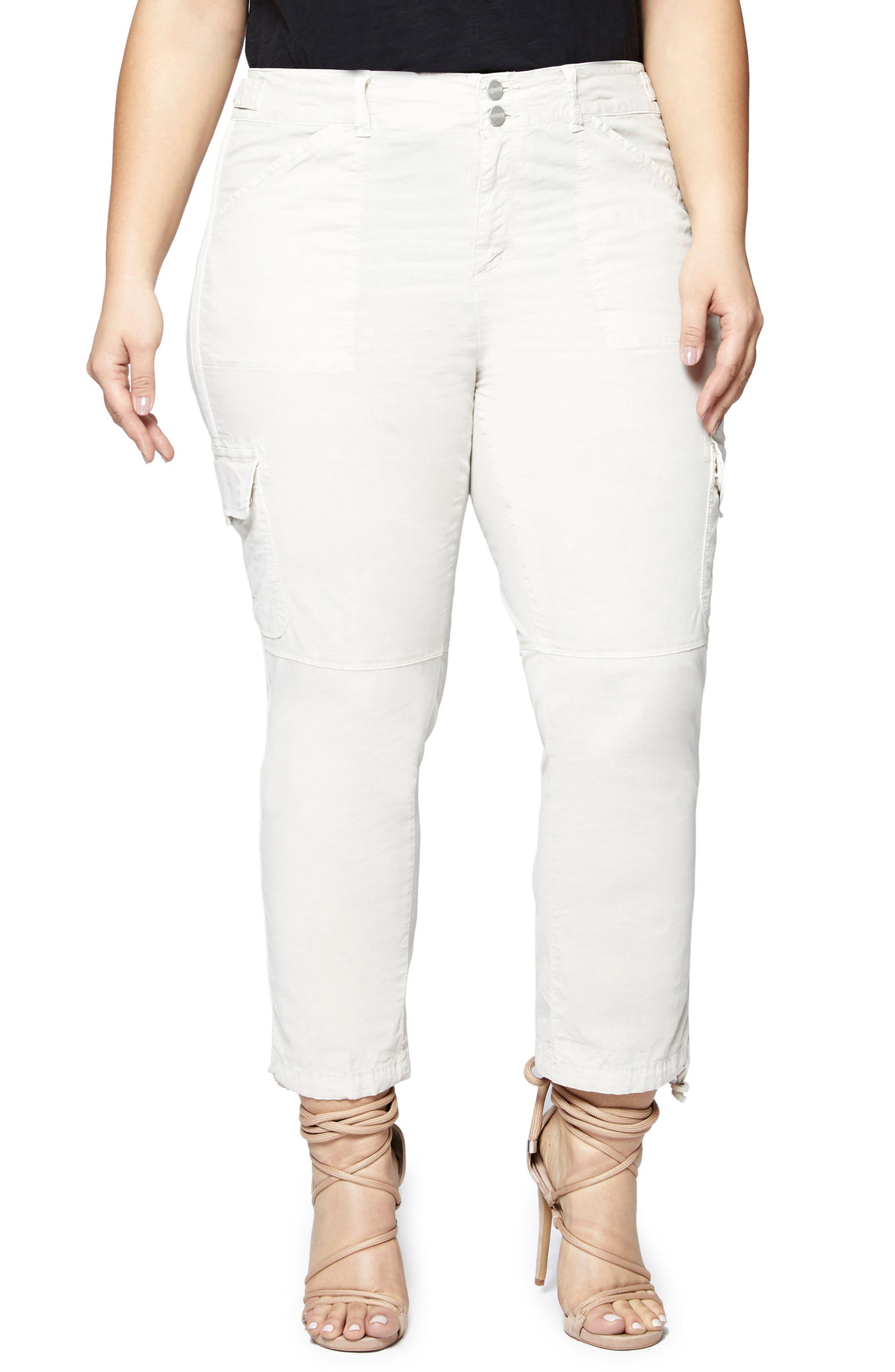 Terrain Crop Cargo Pants,                         Main,                         color, DESERT SAND