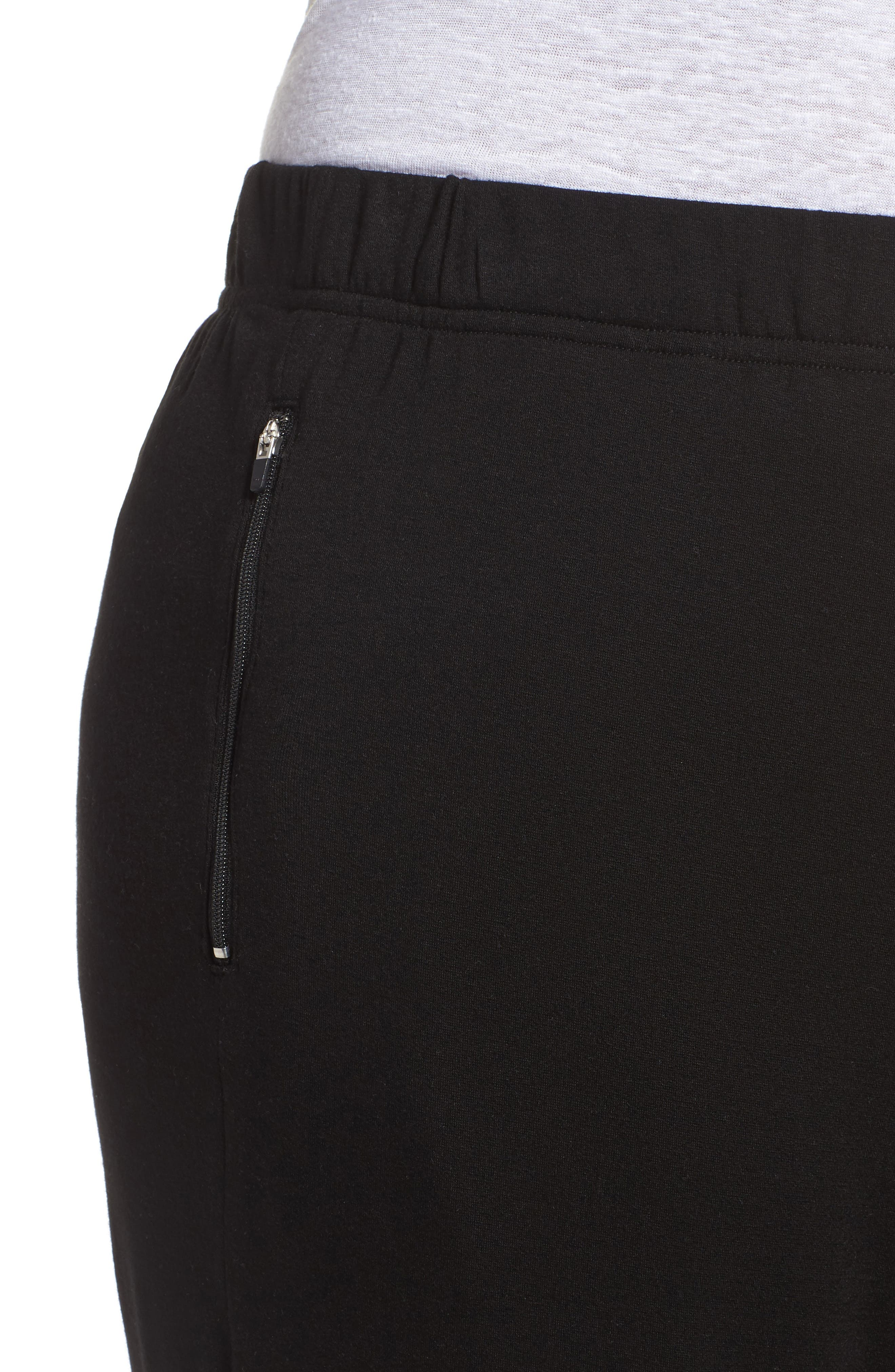 Slouchy Stretch Pants,                             Alternate thumbnail 4, color,                             001