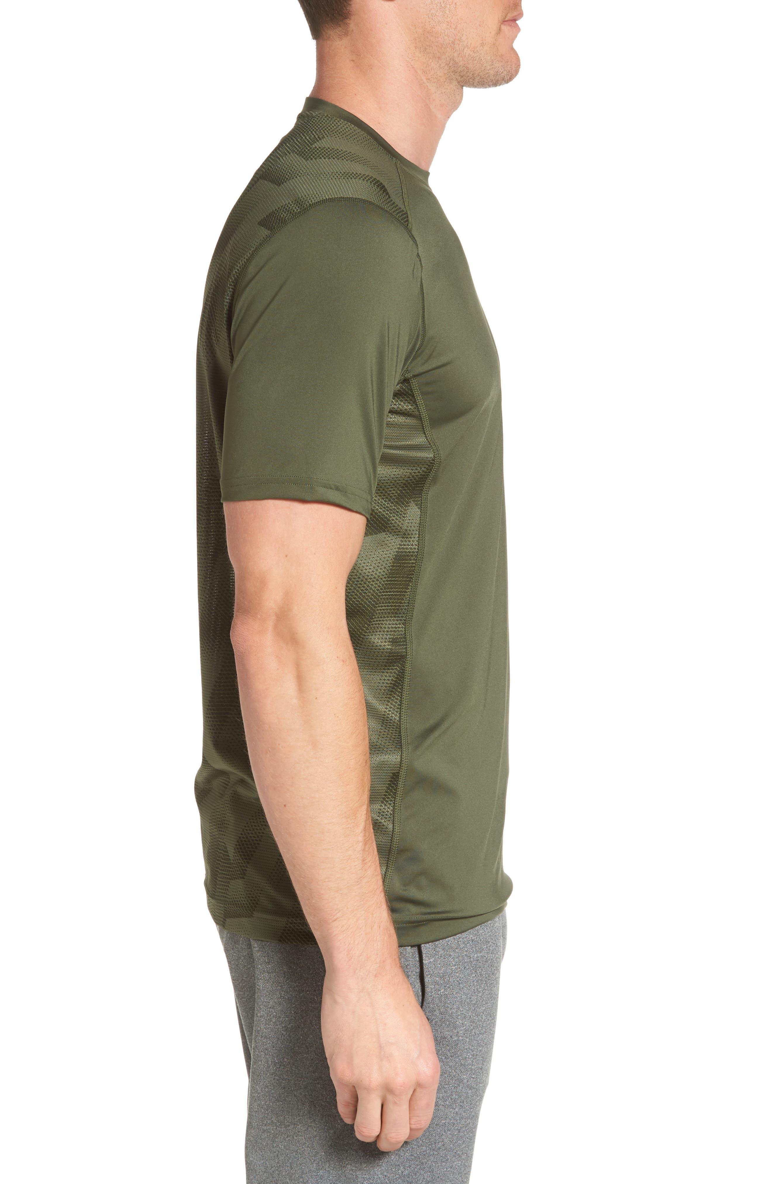 'Raid' HeatGear<sup>®</sup> Training T-Shirt,                             Alternate thumbnail 63, color,
