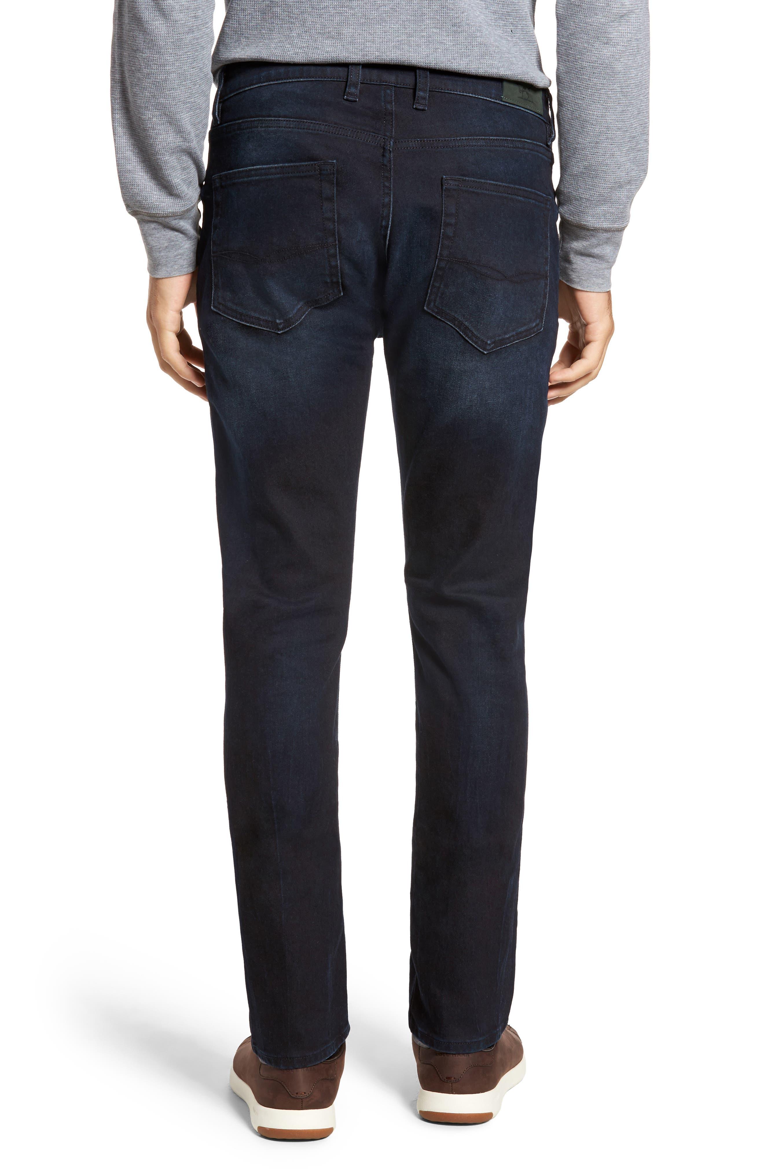 Mapleton Slim Fit Jeans,                             Alternate thumbnail 2, color,                             DENIM