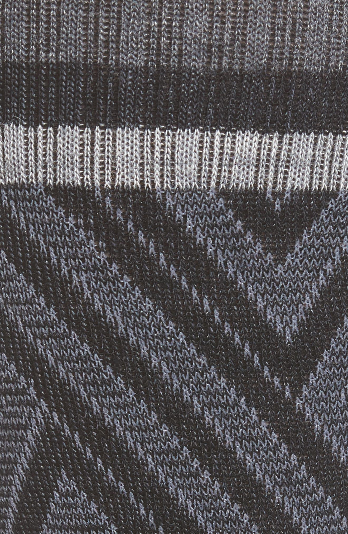 Labyrinth Graduated Compression Socks,                             Alternate thumbnail 2, color,                             001