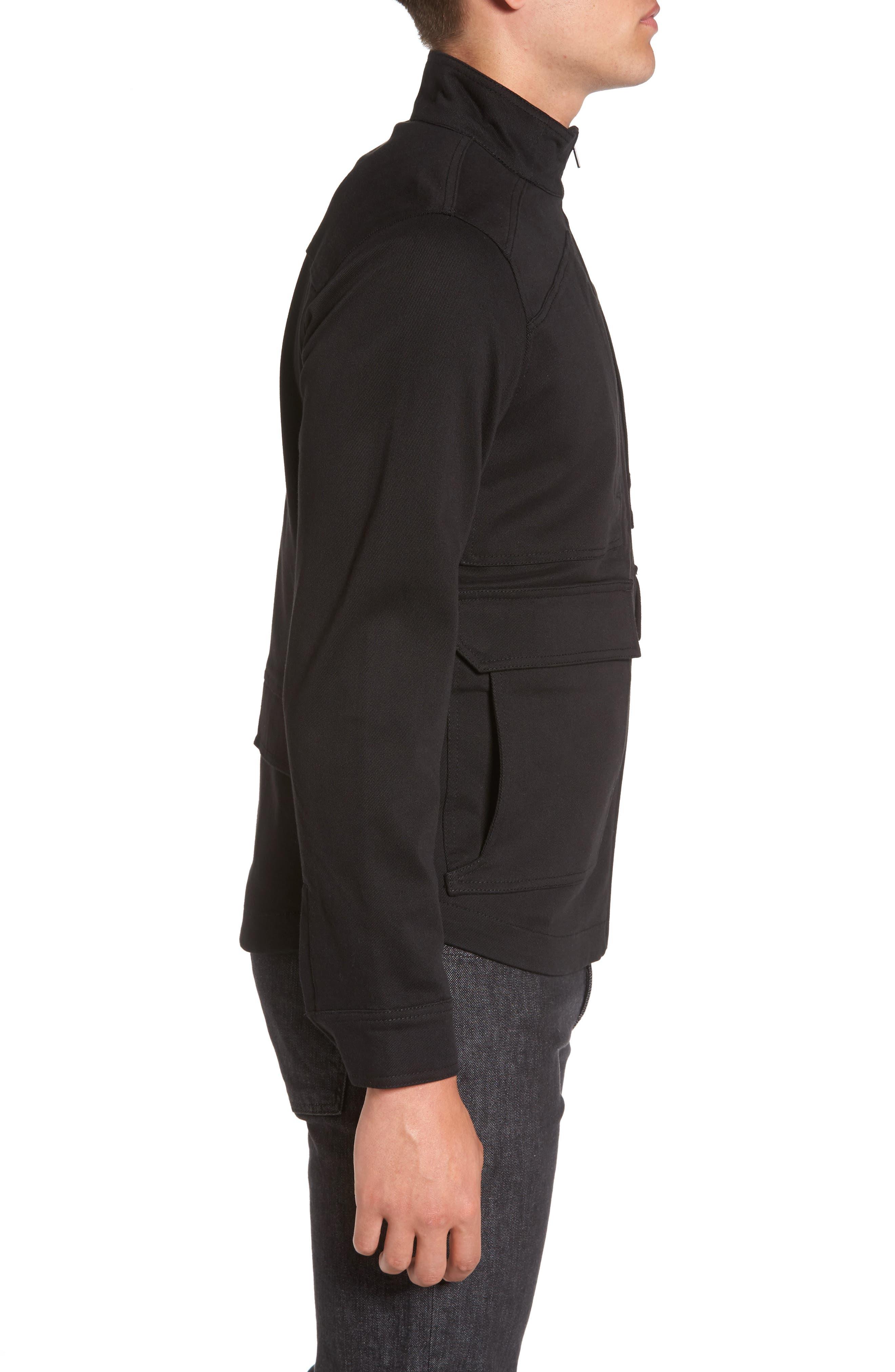 Zip Jacket,                             Alternate thumbnail 3, color,                             001