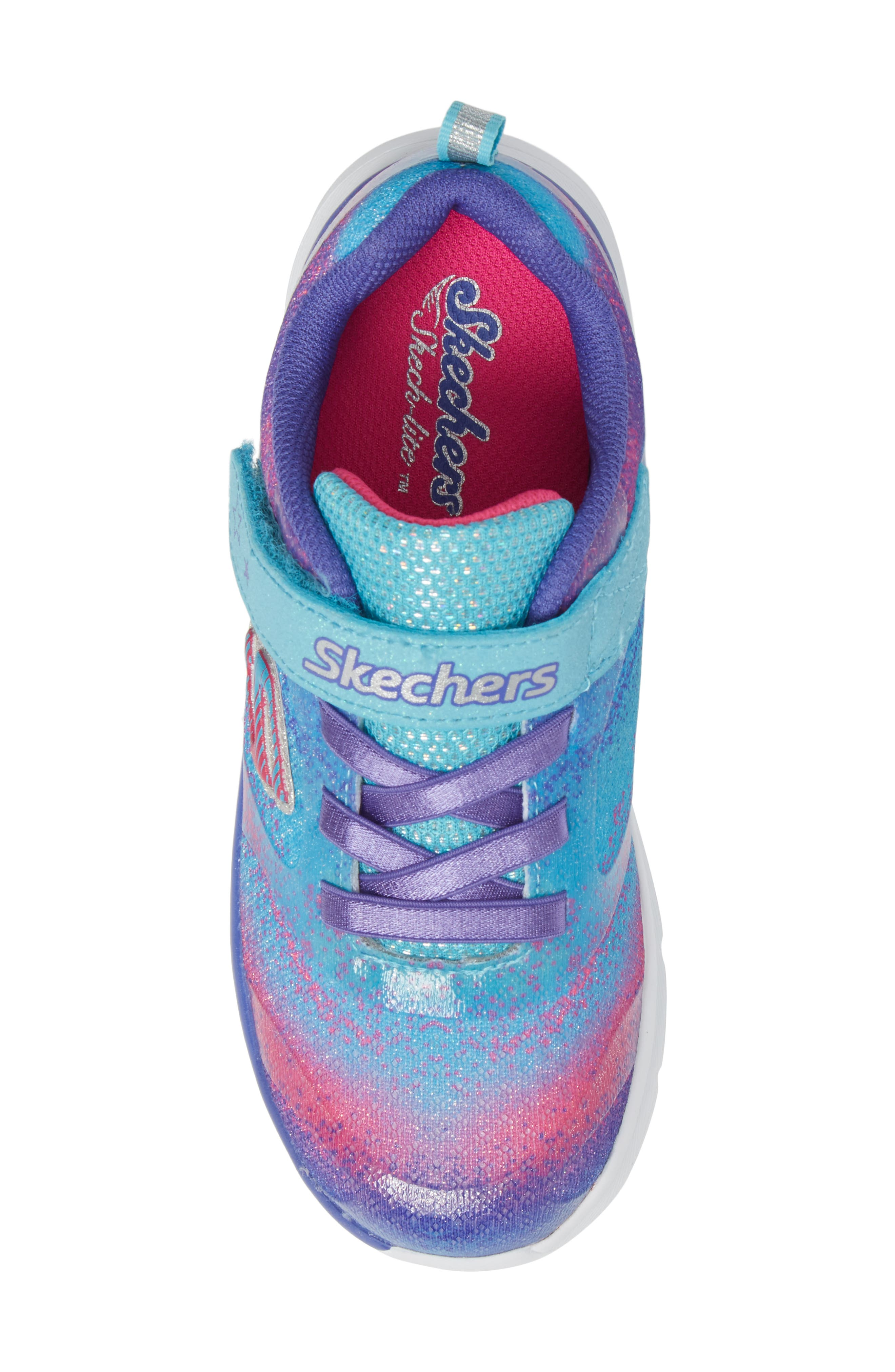 Skech-Lite Colorful Cutie Sneaker,                             Alternate thumbnail 5, color,                             400