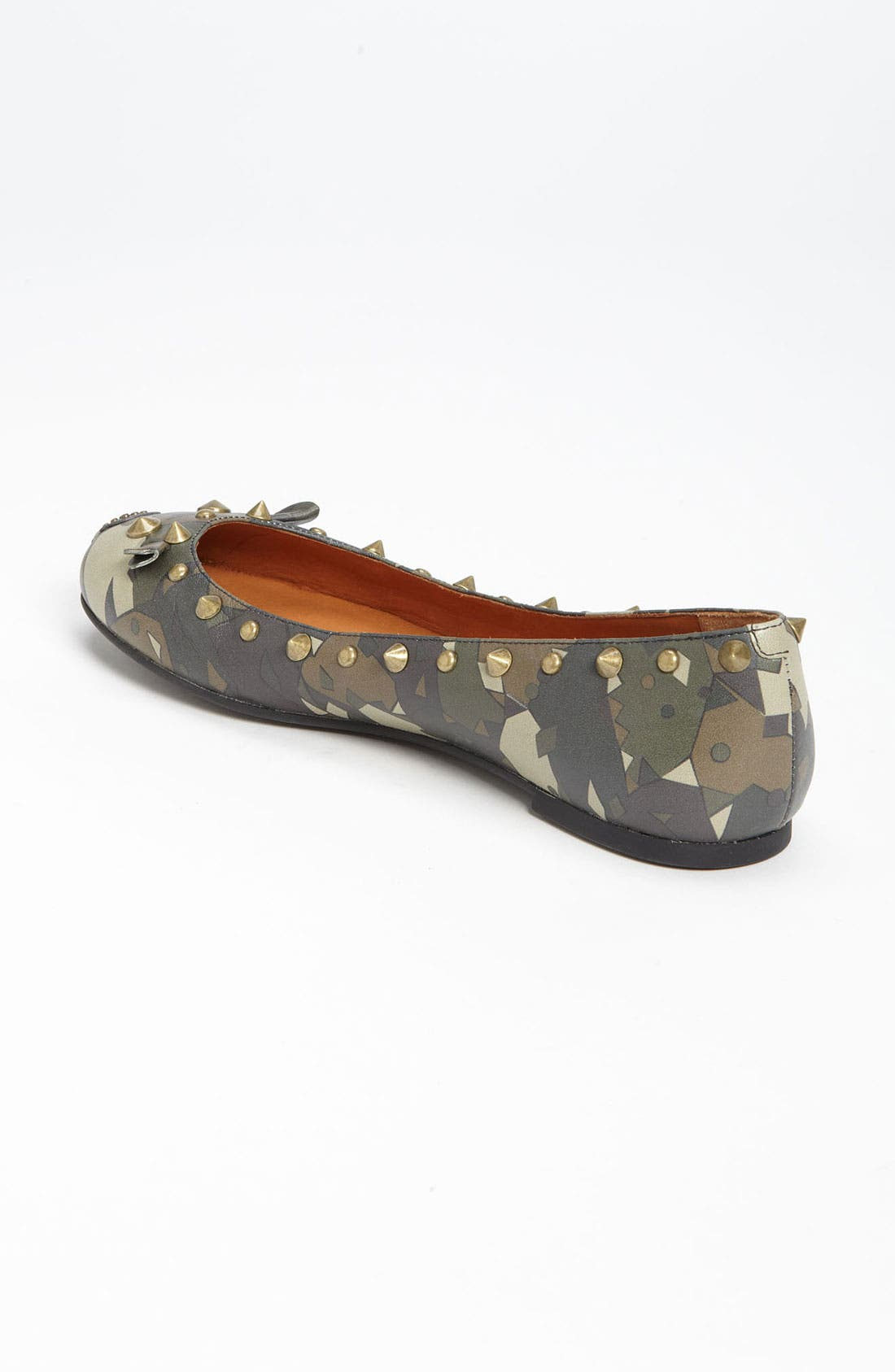 MARC BY MARC JACOBS 'Mouse' Ballerina Flat,                             Alternate thumbnail 4, color,                             357