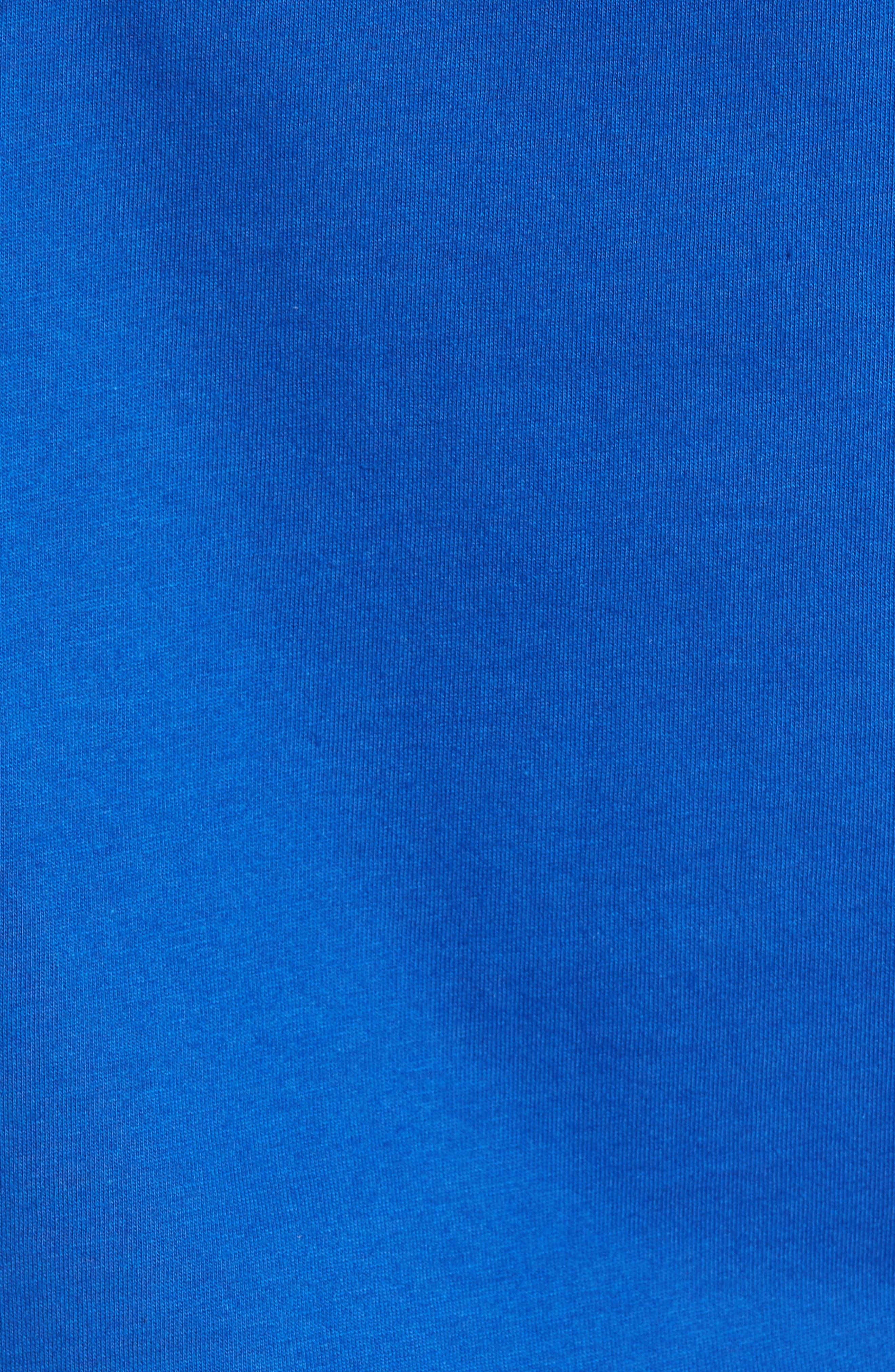 True Religion Silver Buddha T-Shirt,                             Alternate thumbnail 15, color,