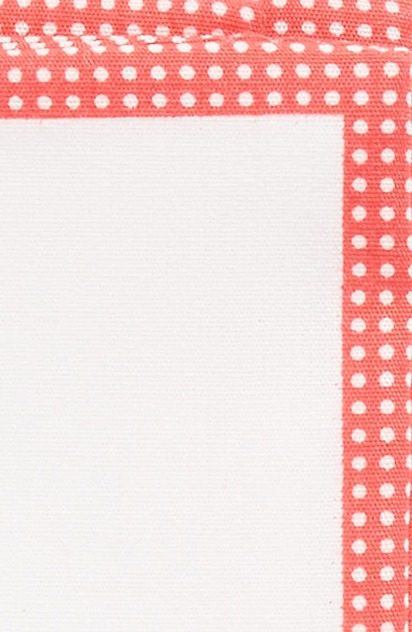 The Perfect Pre-Folded Pocket Square,                             Alternate thumbnail 3, color,                             RED DOT