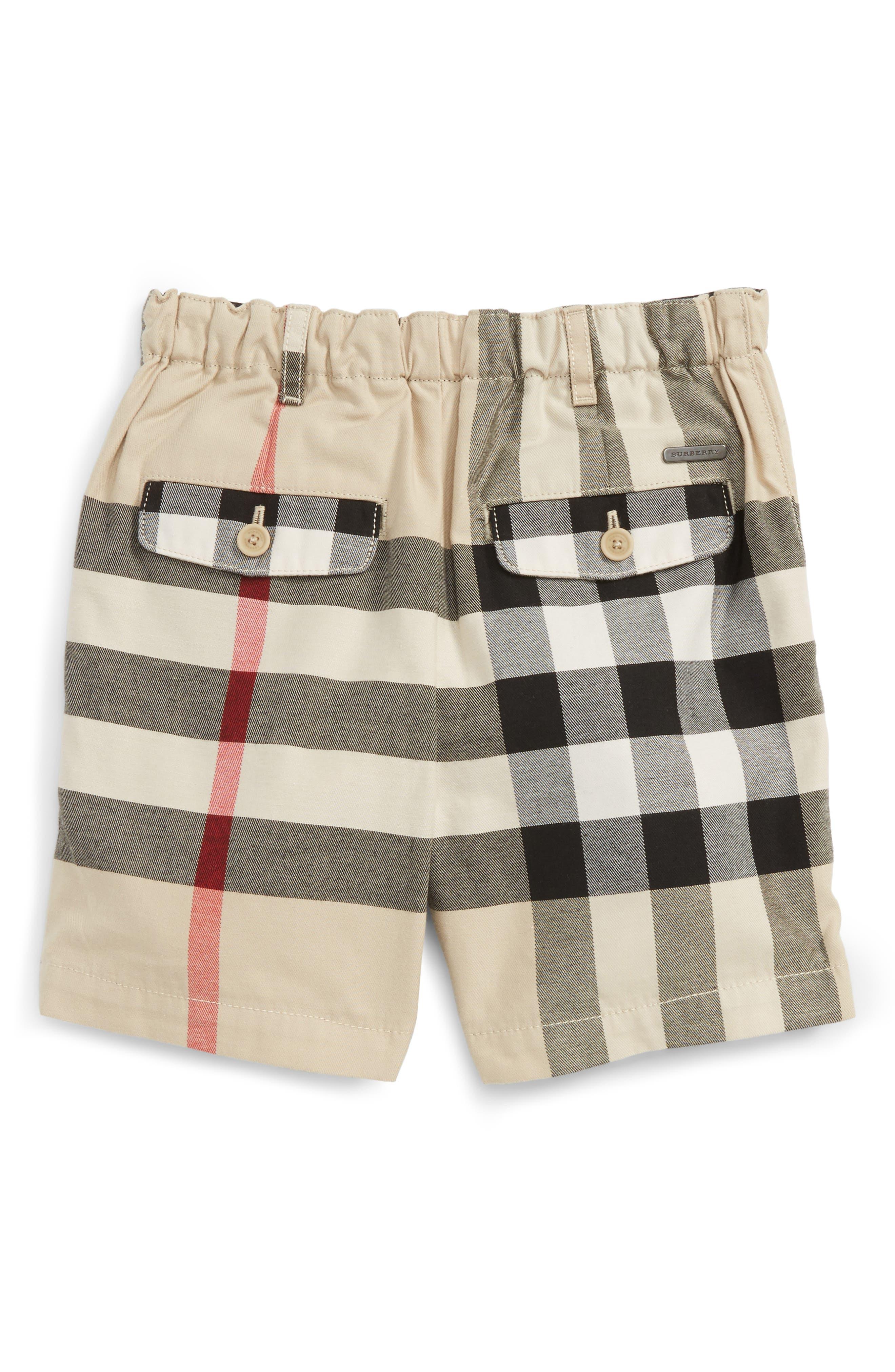 Sean Check Print Shorts,                             Main thumbnail 1, color,