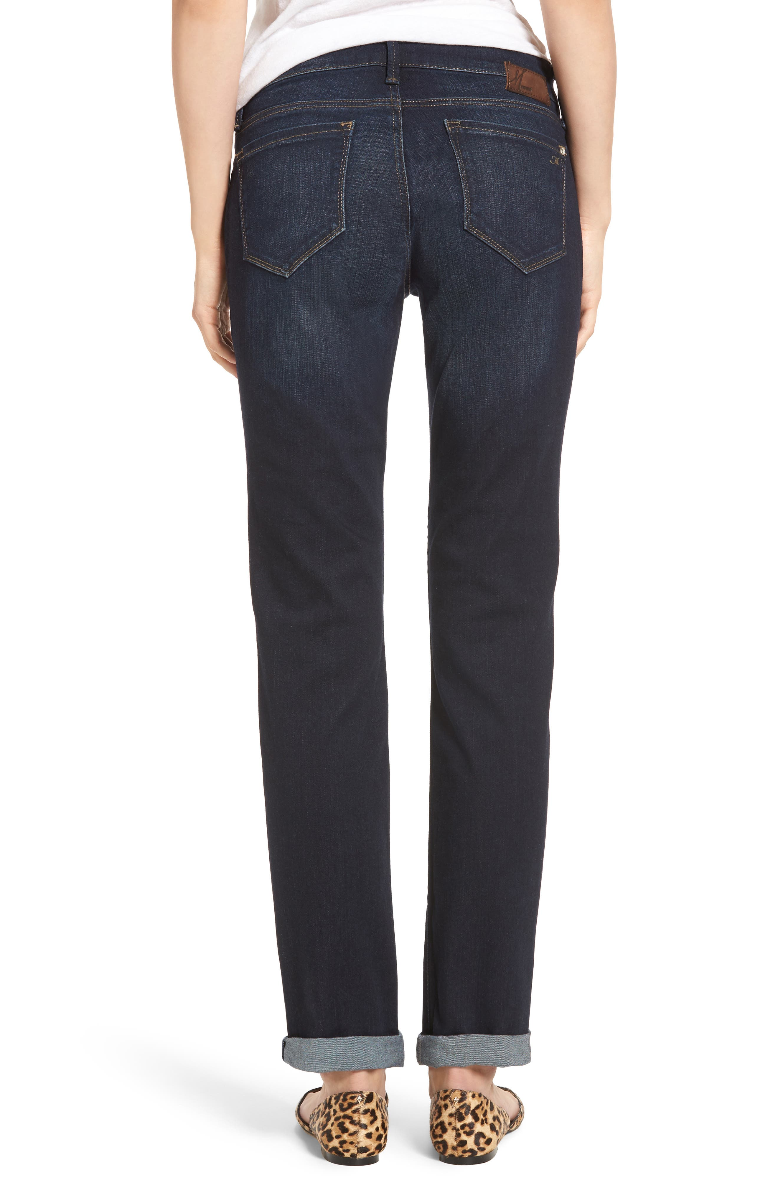 Emma Slim Boyfriend Jeans,                             Alternate thumbnail 2, color,                             DEEP BRUSHED TRIBECA