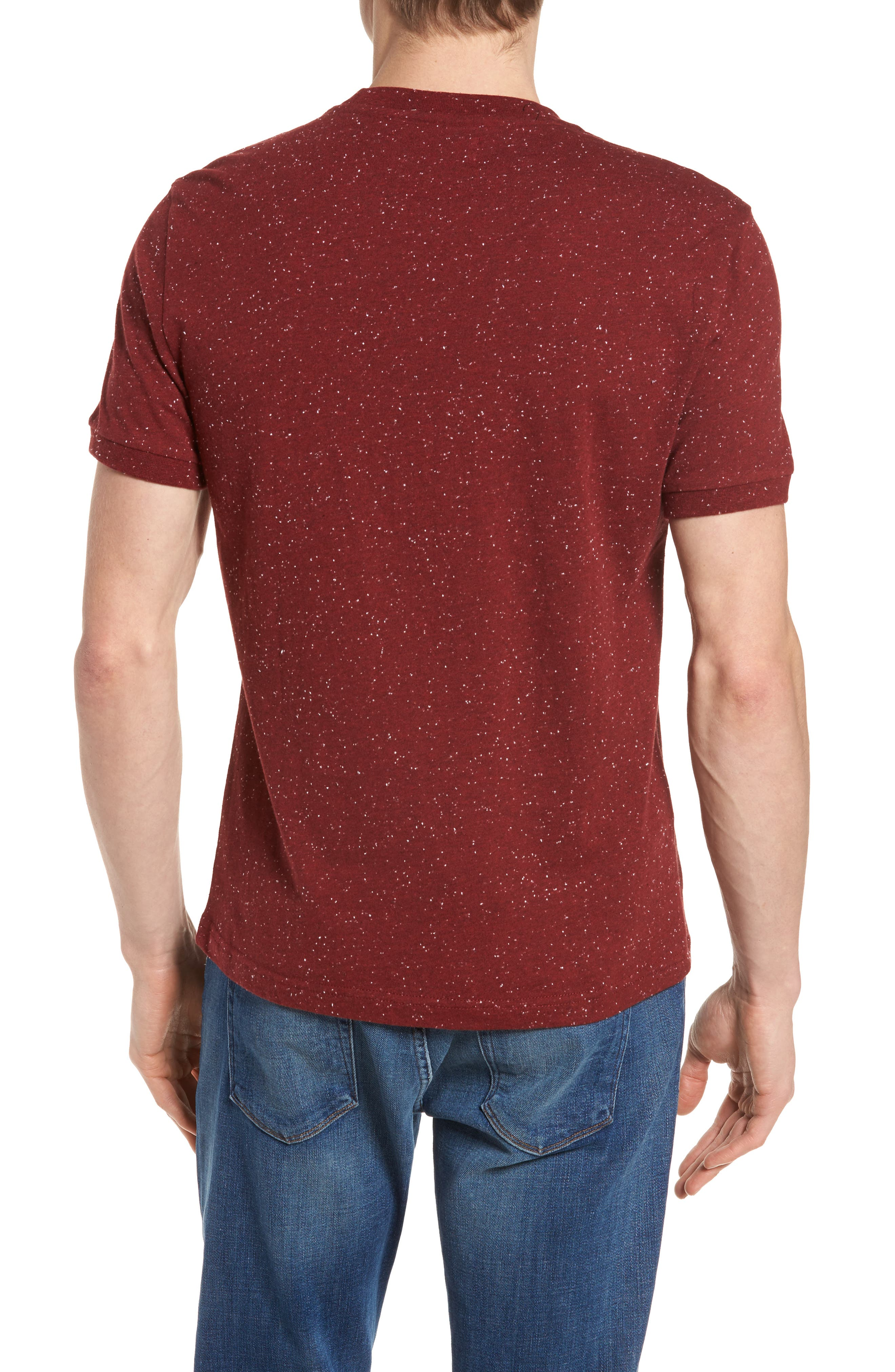 Nep Speckled T-Shirt,                             Alternate thumbnail 6, color,