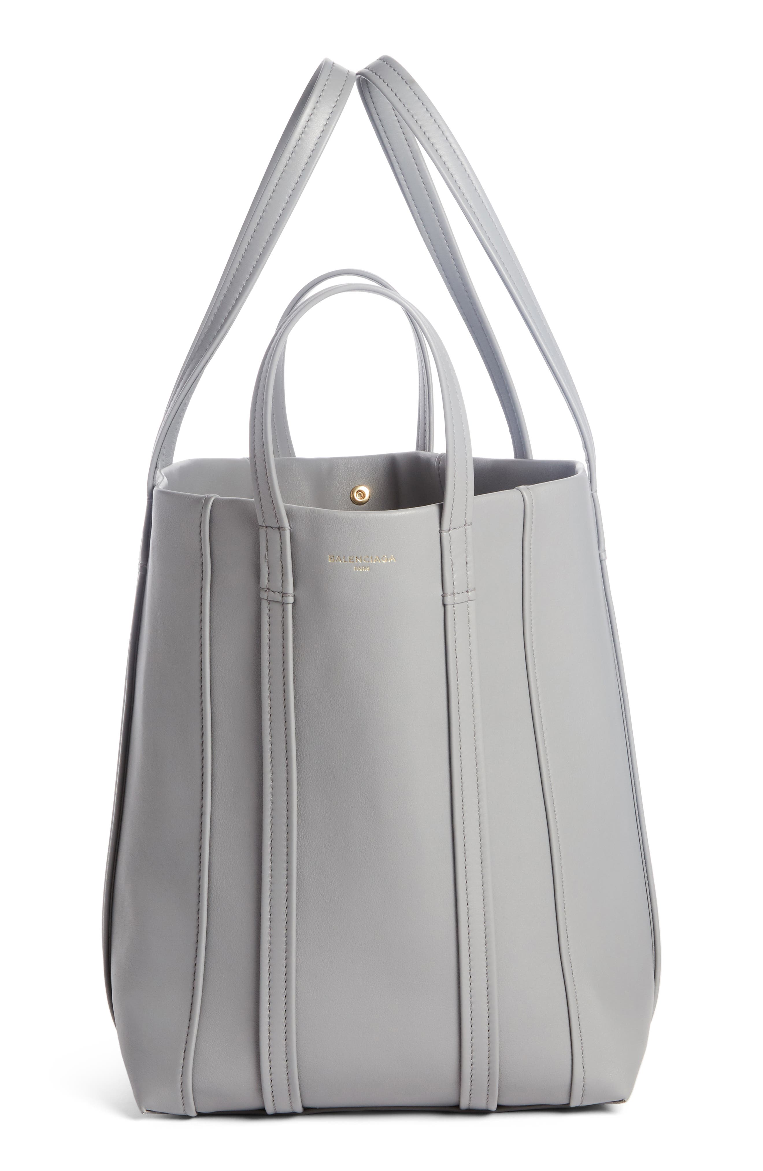 Large Laundry Cabas Calfskin Tote,                             Alternate thumbnail 3, color,                             022