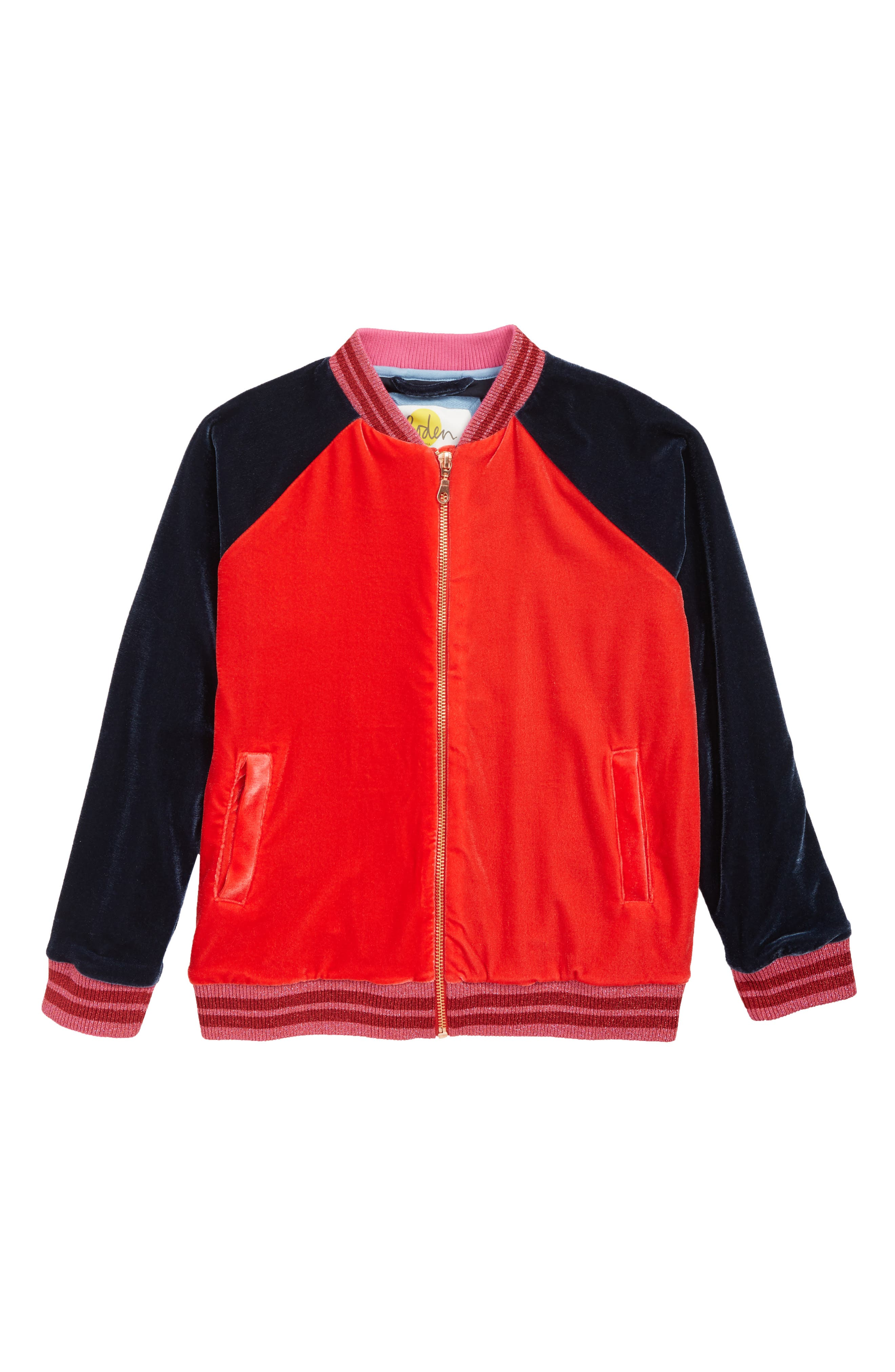 Velvet Bomber Jacket,                             Main thumbnail 1, color,                             404