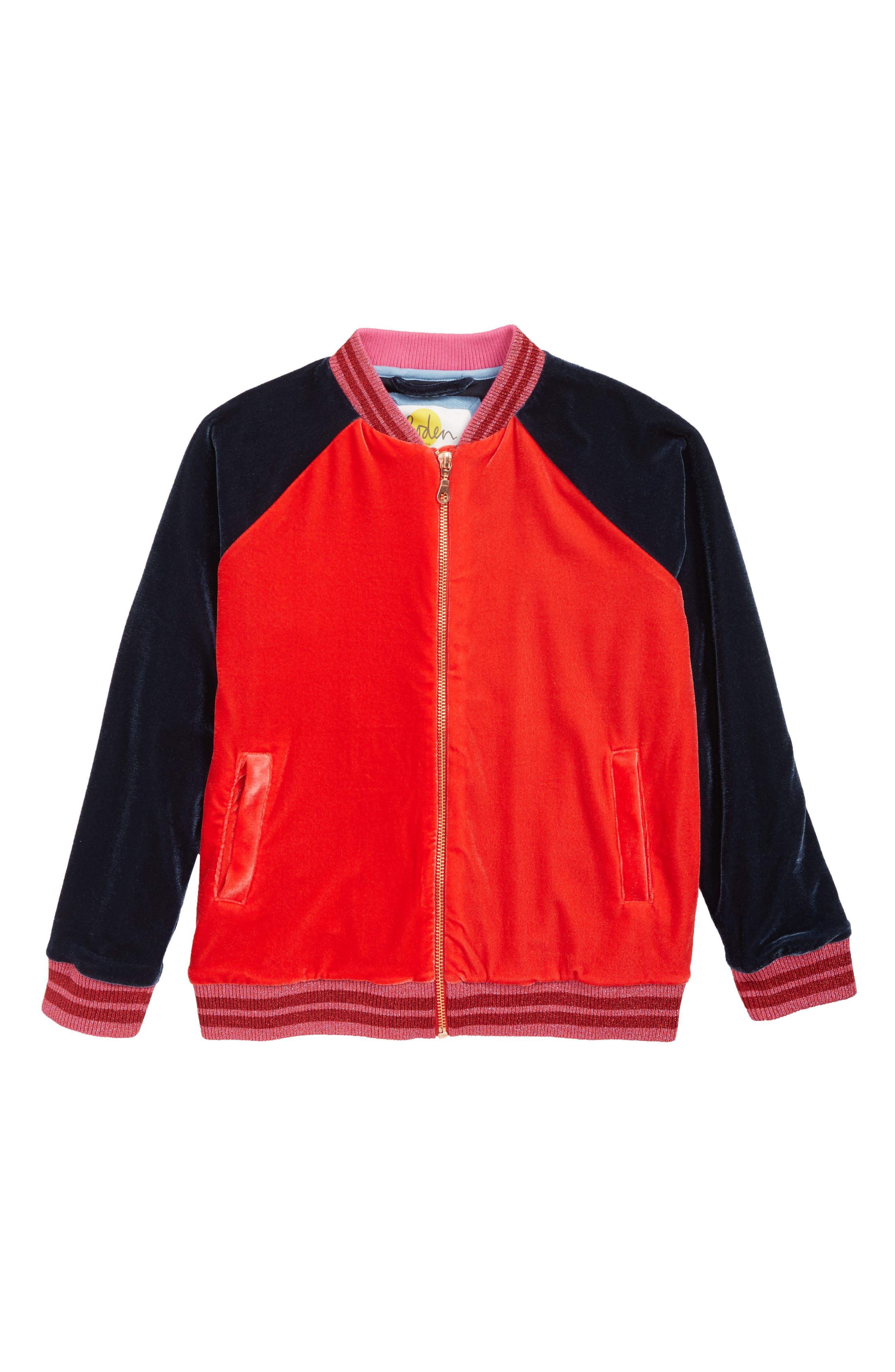 Velvet Bomber Jacket,                         Main,                         color, 404
