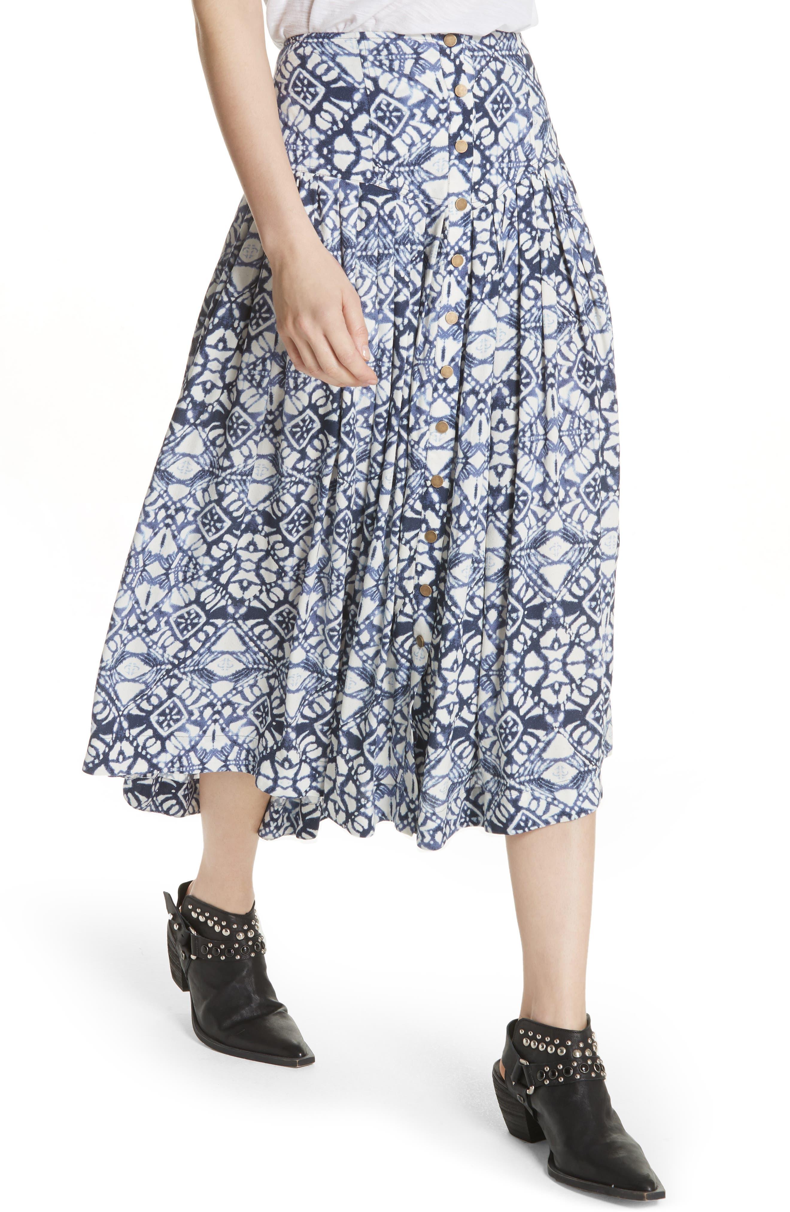 Lovers Dream Midi Skirt,                             Alternate thumbnail 4, color,                             401