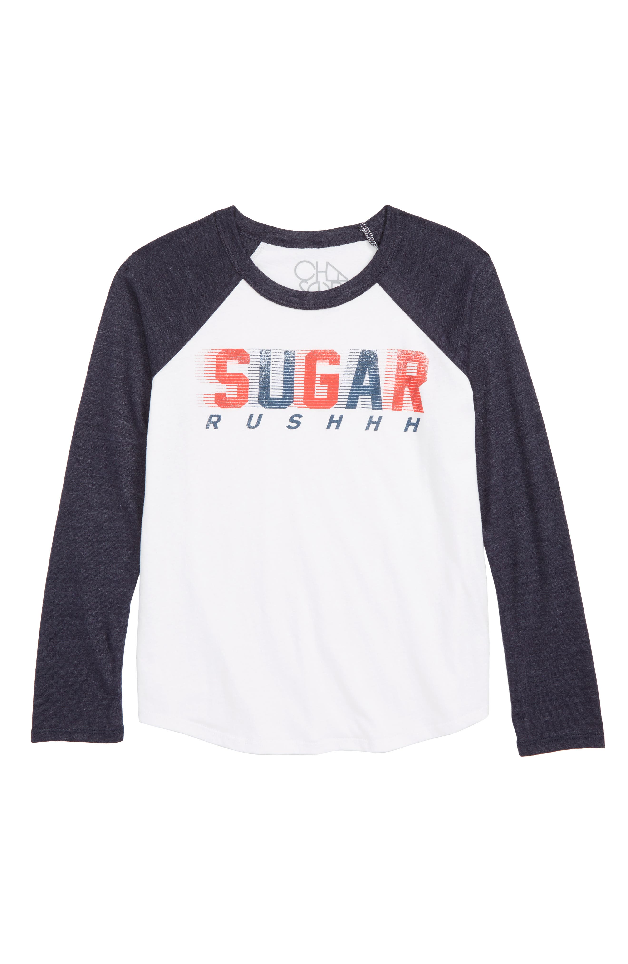 CHASER Sugar Rush Graphic T-Shirt, Main, color, WHITE / AVALON