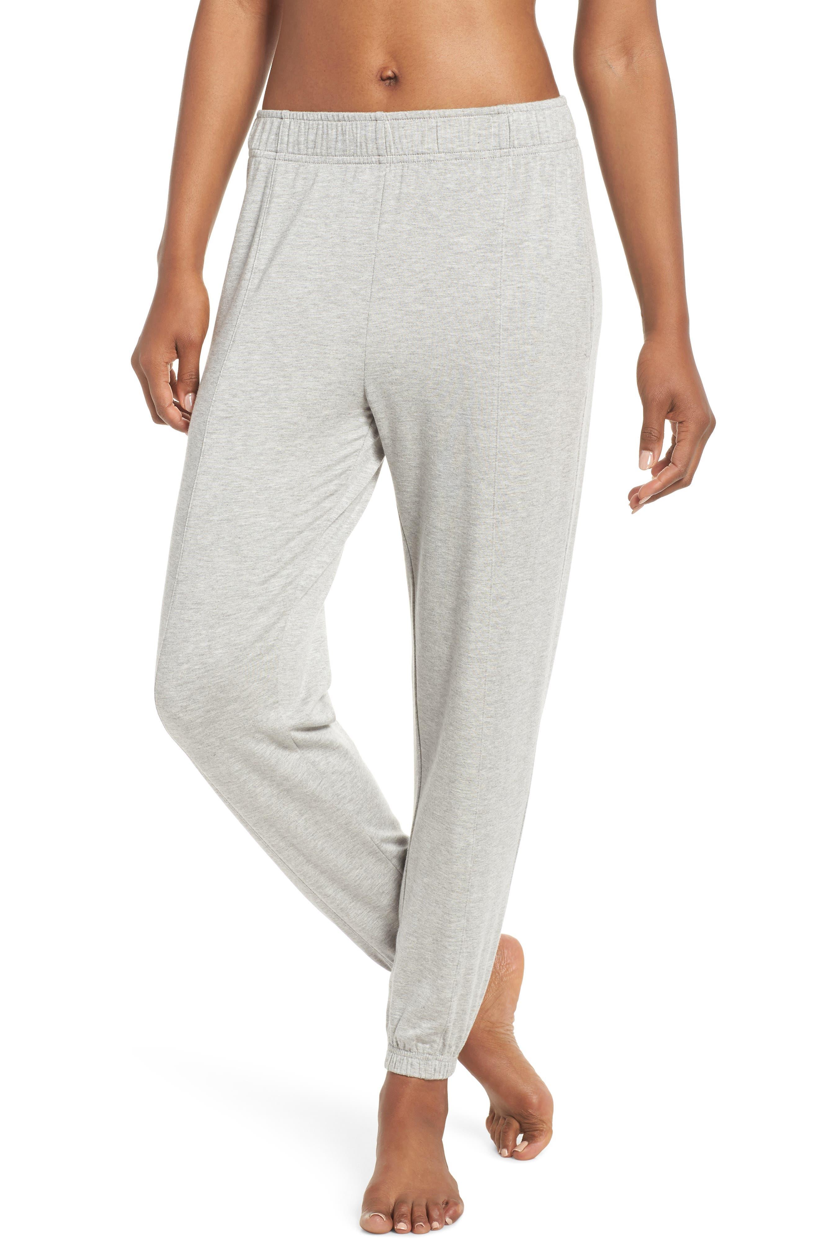 Marina Sweat Pants,                         Main,                         color, LIGHT HEATHER GREY