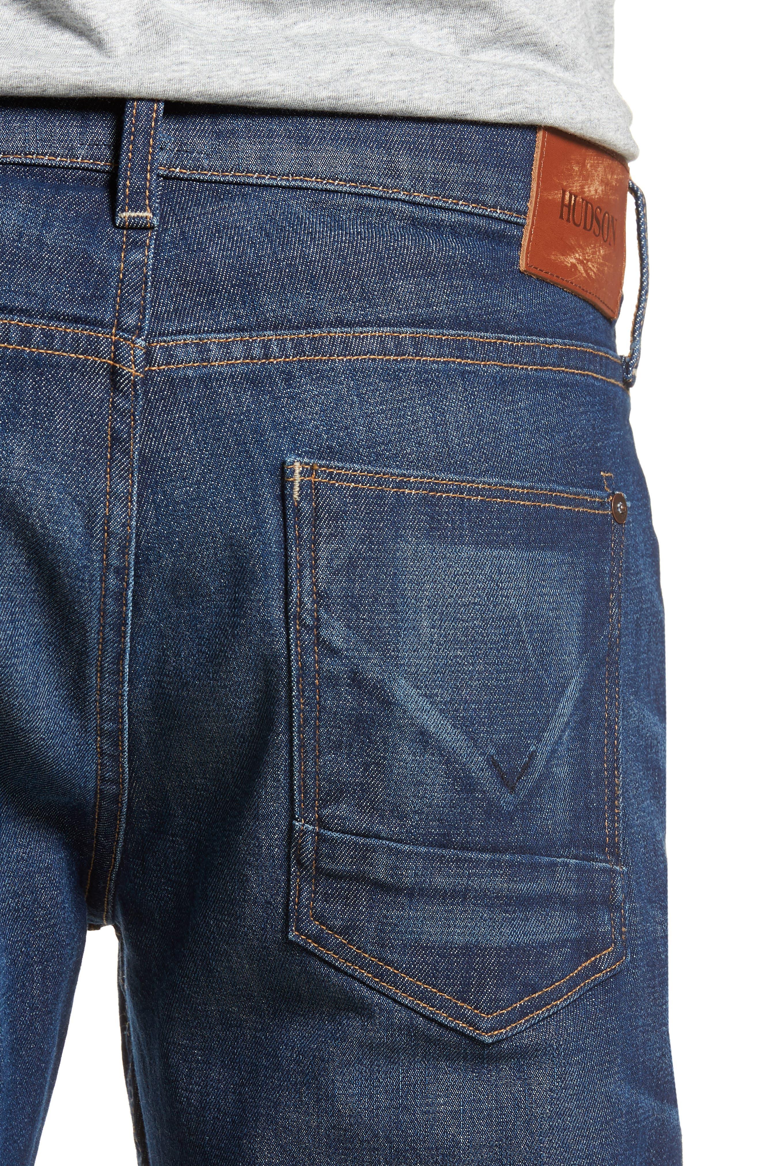 Blake Slim Fit Jeans,                             Alternate thumbnail 4, color,