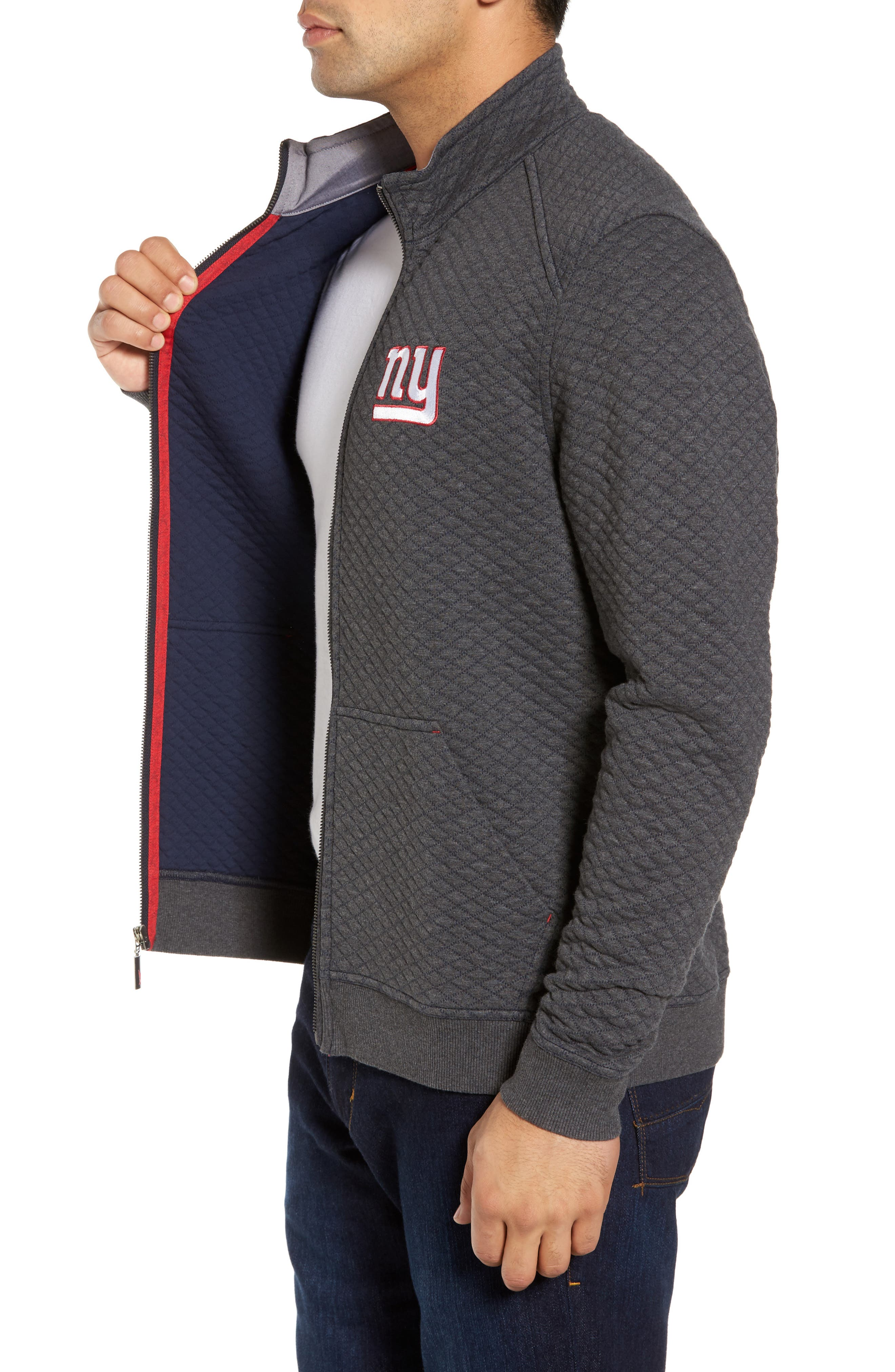 NFL Quiltessential Full Zip Sweatshirt,                             Alternate thumbnail 81, color,