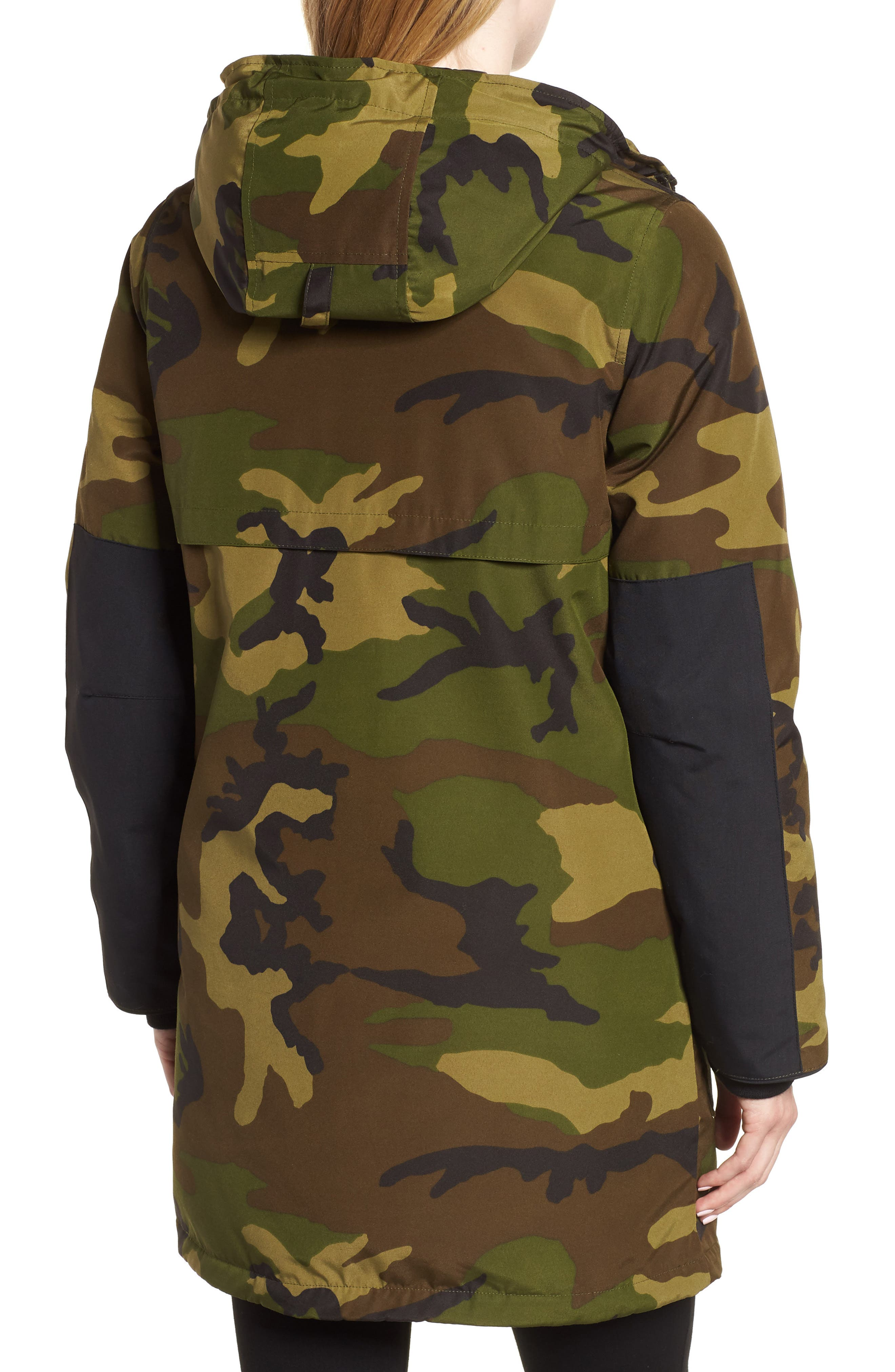 Canmore 625 Fill Power Down Parka,                             Alternate thumbnail 2, color,                             CLASSIC CAMO