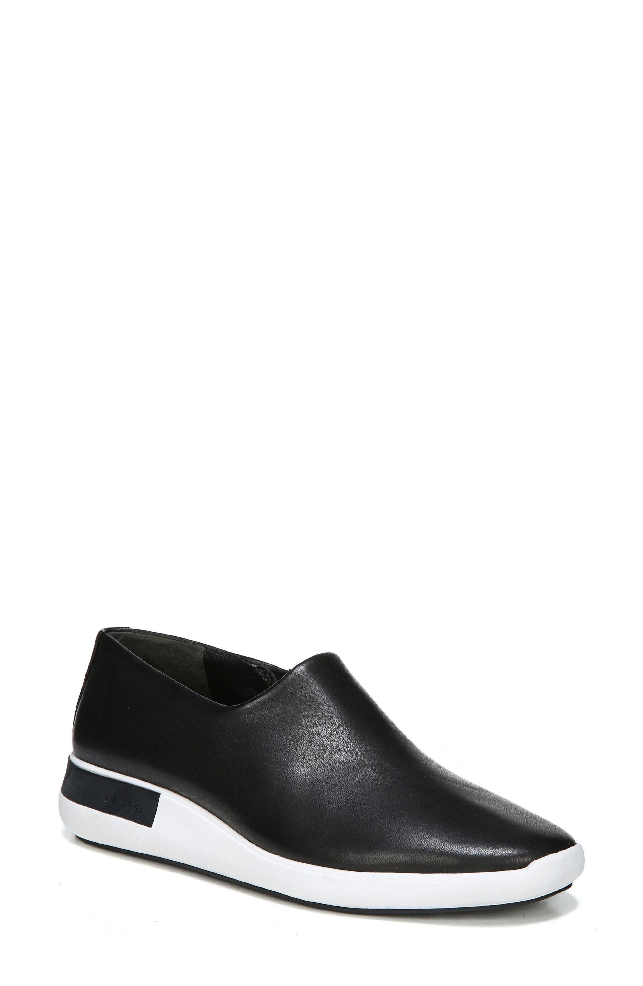 Malena Slip-On Sneaker,                             Main thumbnail 1, color,                             001