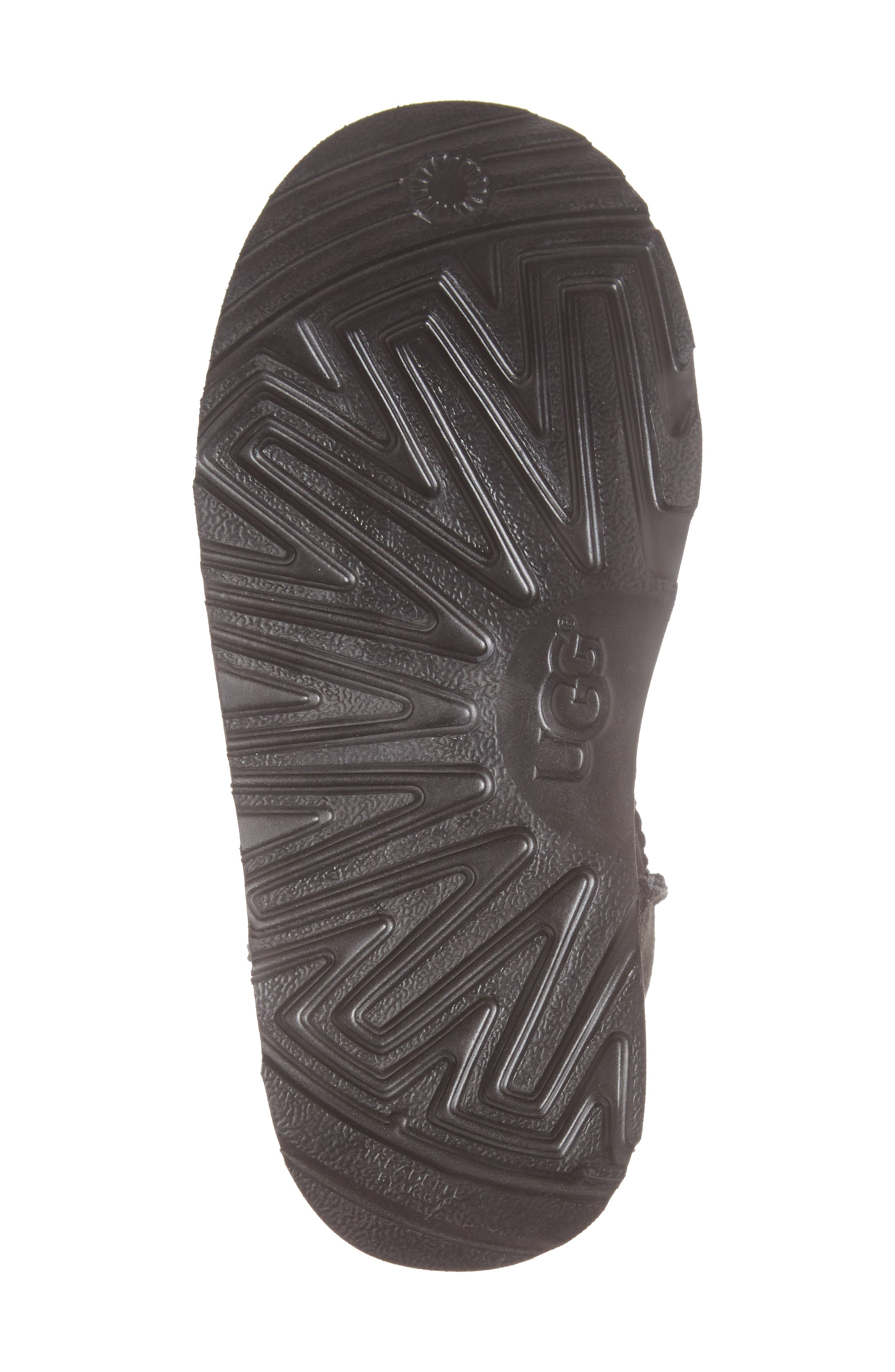Classic Short II Water Resistant Genuine Shearling Boot,                             Alternate thumbnail 6, color,                             BLACK