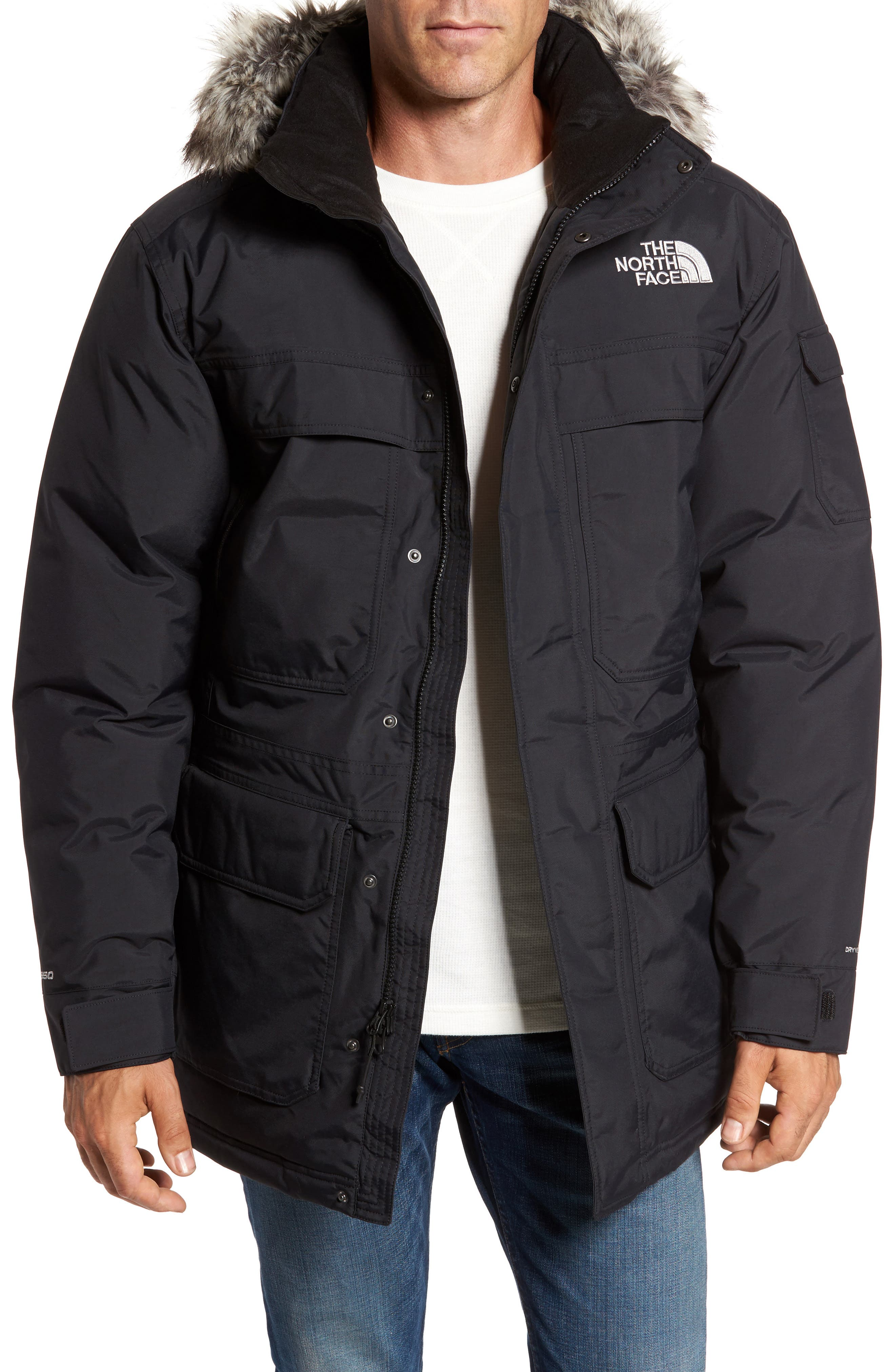 THE NORTH FACE McMurdo III Waterproof Parka, Main, color, 001