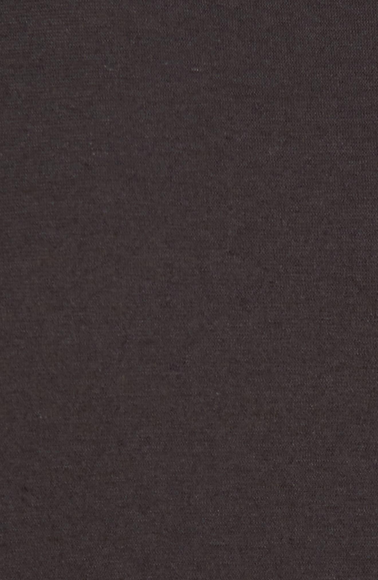 Cotton & Linen Pocket T-Shirt,                             Alternate thumbnail 5, color,                             020