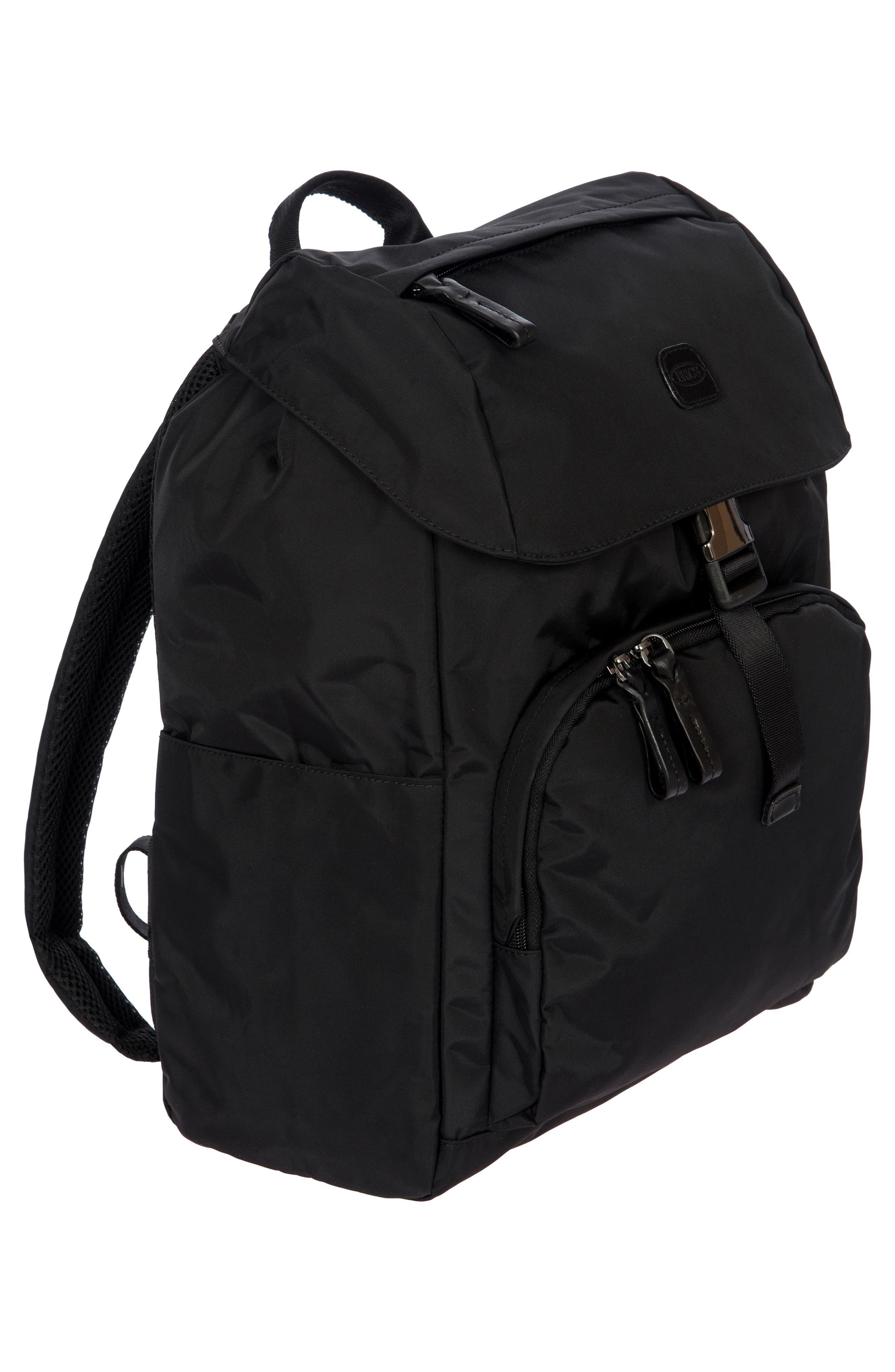 X-Bag Travel Excursion Backpack,                             Alternate thumbnail 6, color,                             BLACK/ BLACK