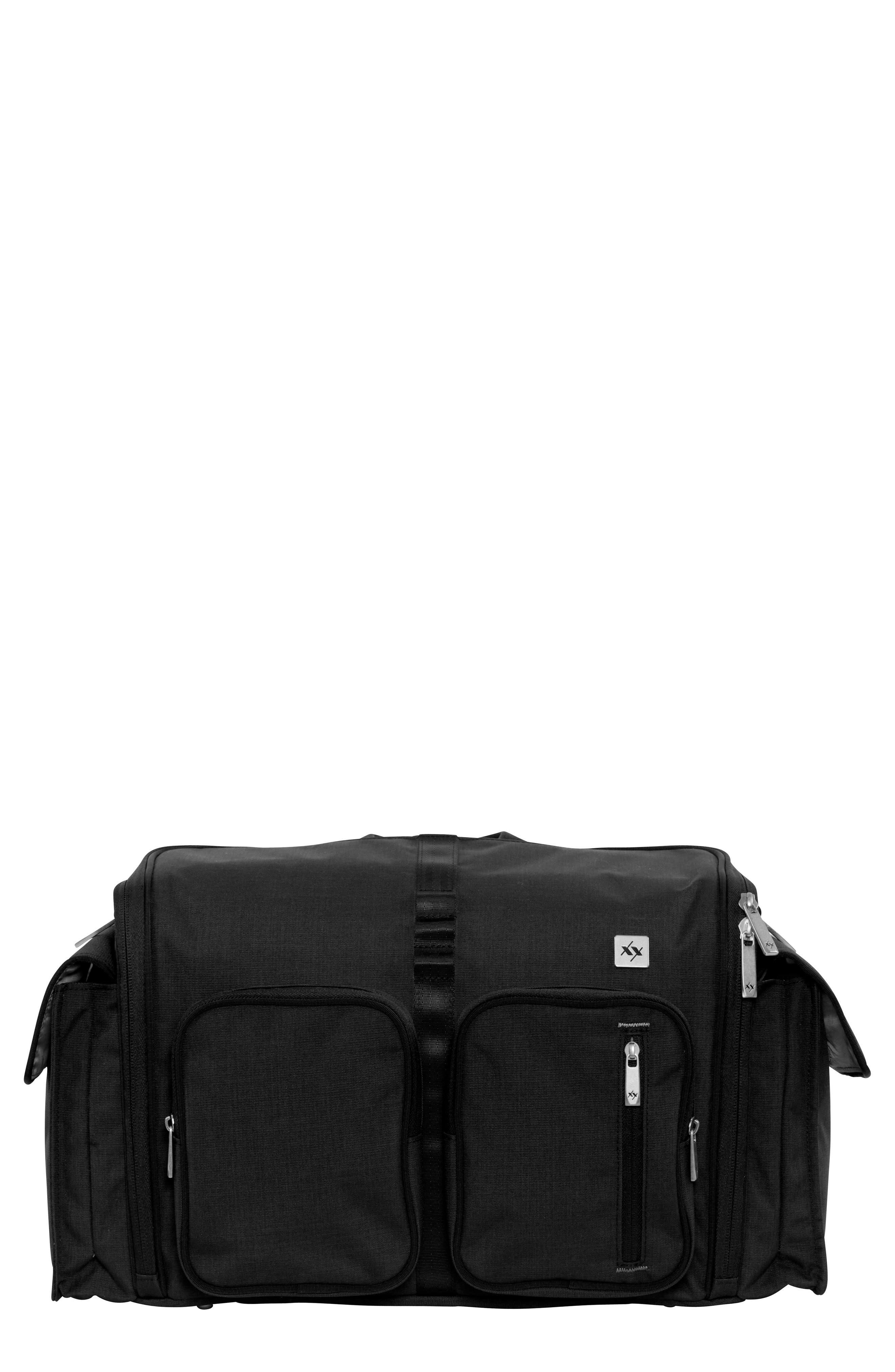 XY Clone Diaper Bag,                             Main thumbnail 1, color,                             CARBON