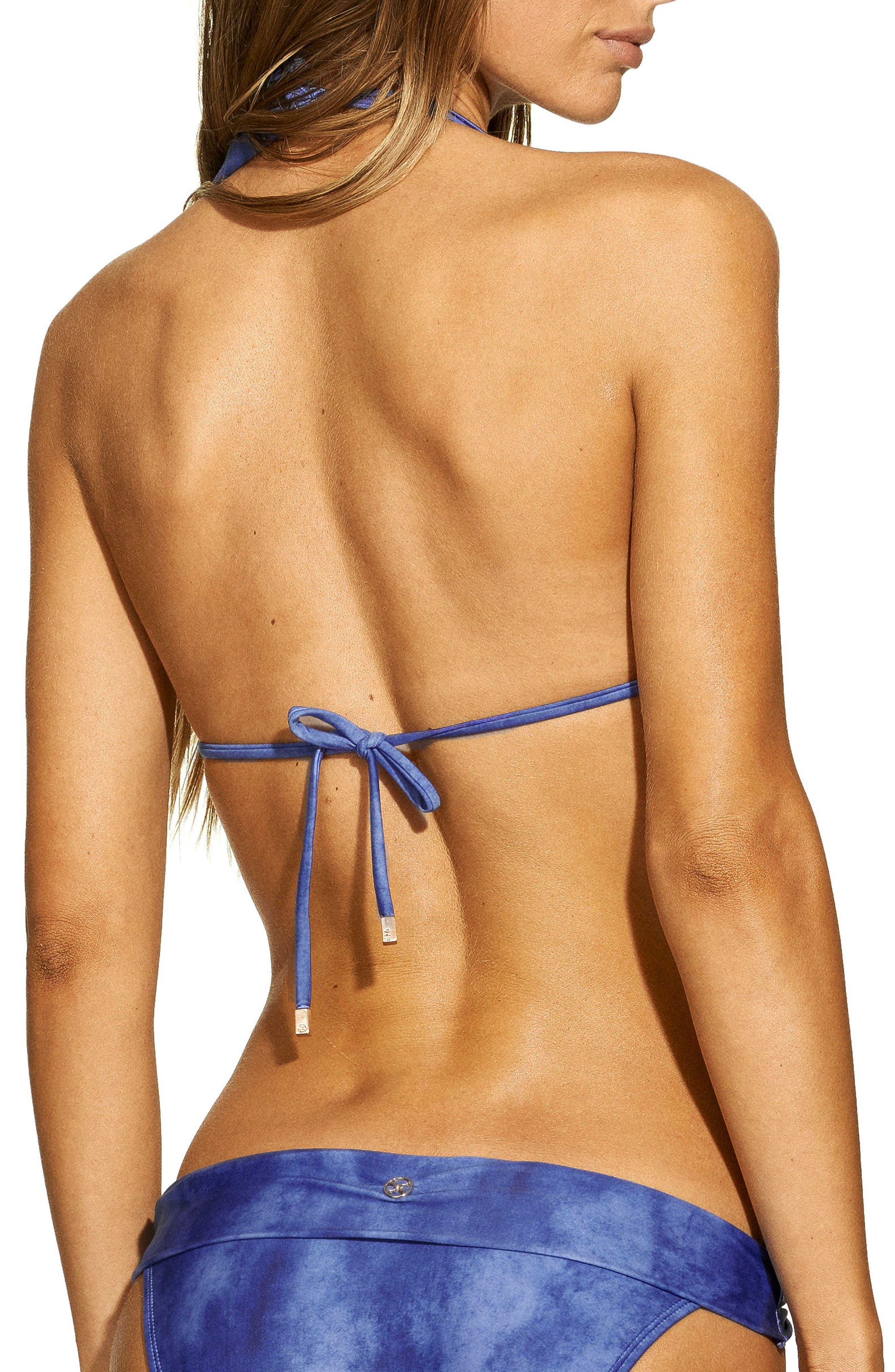 ViX Klein Bia Bikini Top,                             Alternate thumbnail 2, color,                             BLUE