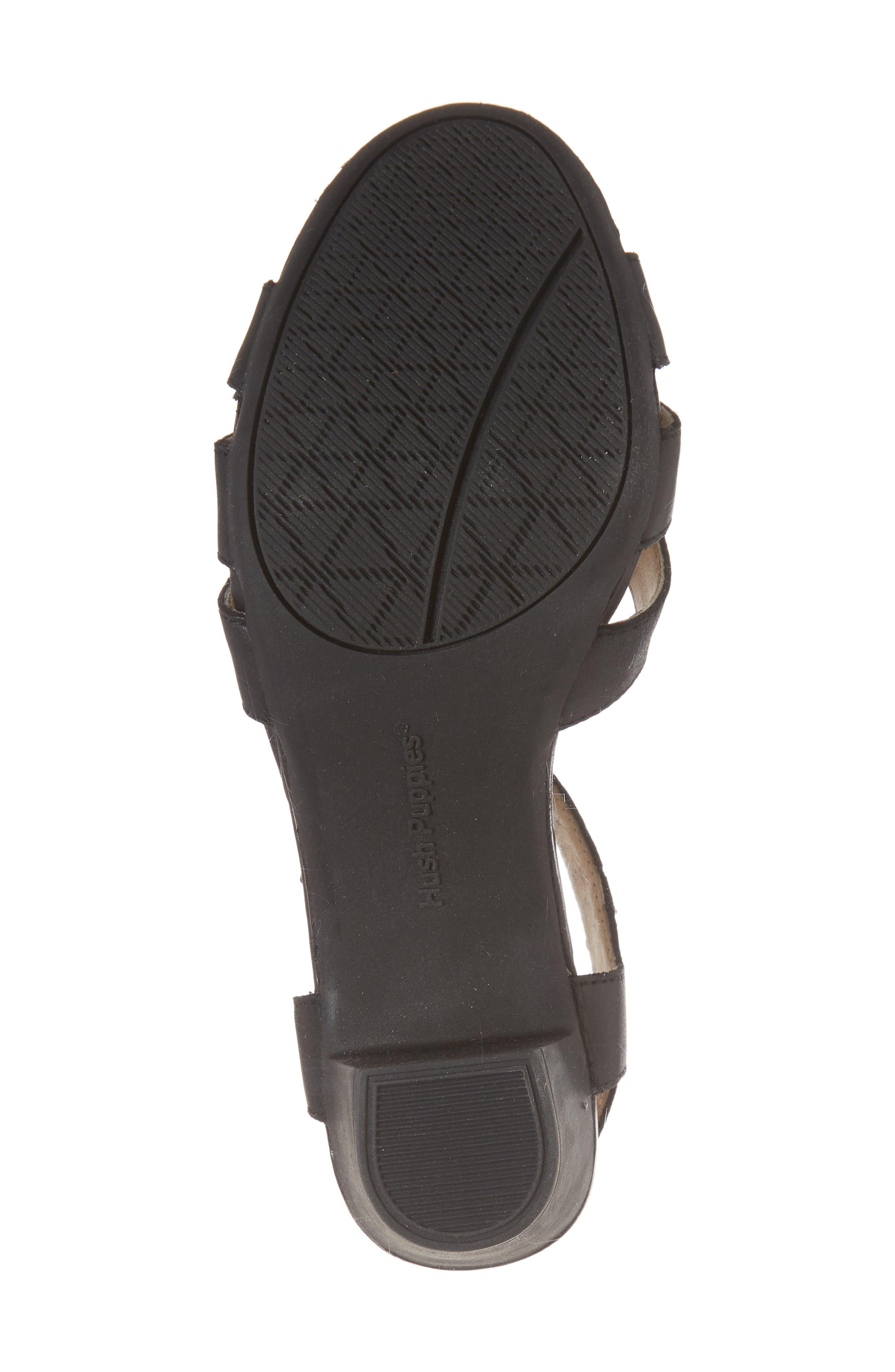 Masseter Quarter Strap Sandal,                             Alternate thumbnail 6, color,                             007