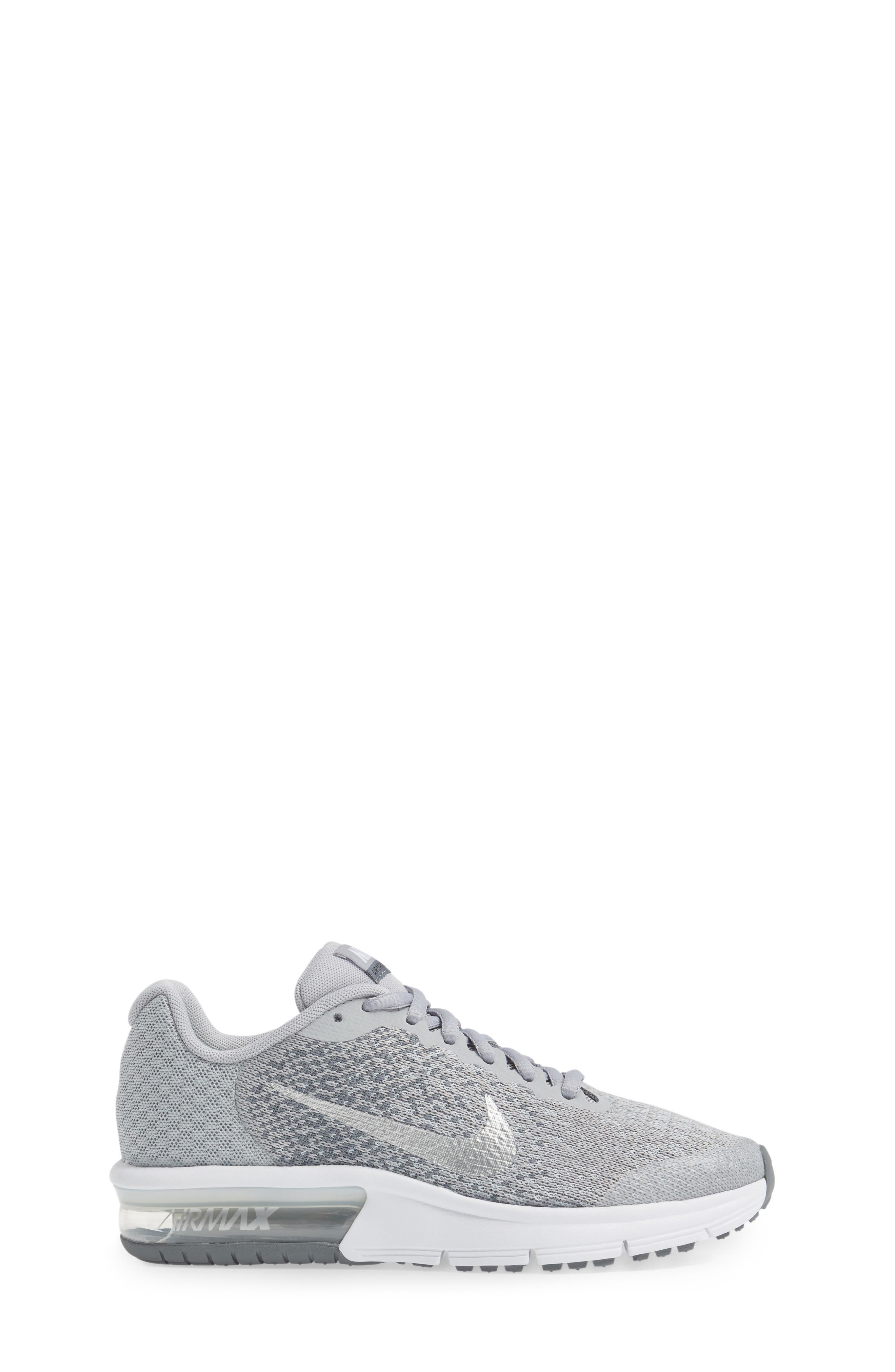Air Max Sequent 2 Sneaker,                             Alternate thumbnail 3, color,                             020